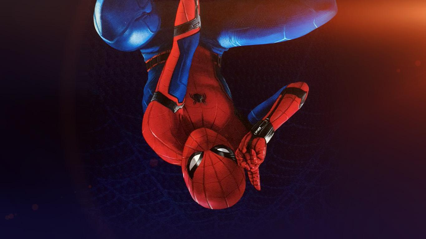 wallpaper-desktop-laptop-mac-macbook-az62-spiderman-homecoming-hero-film-illustration-art-flare