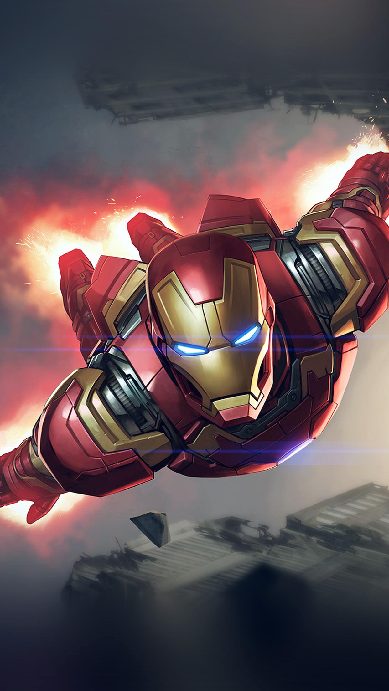 Iphone6papers Com Iphone 6 Wallpaper Az70 Ironman Hero Marvel