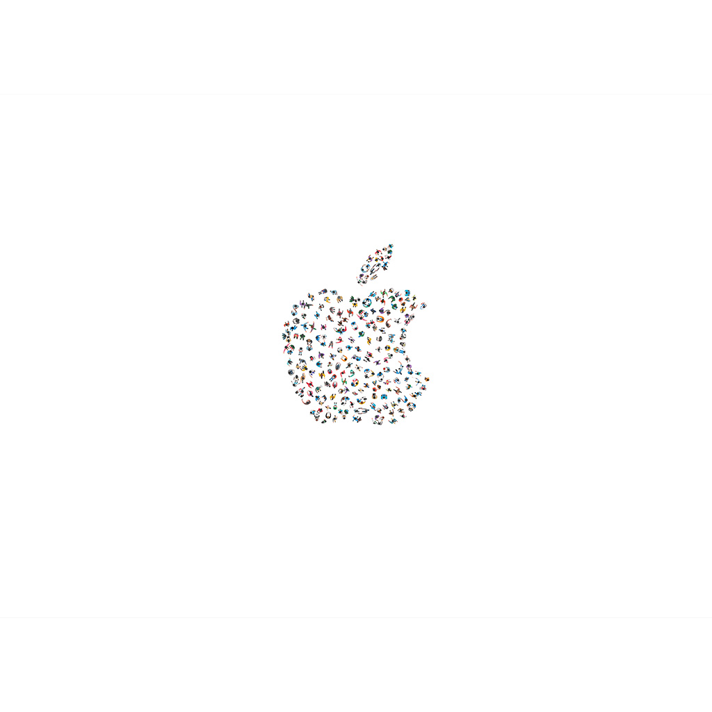 apple illustration logo minimal