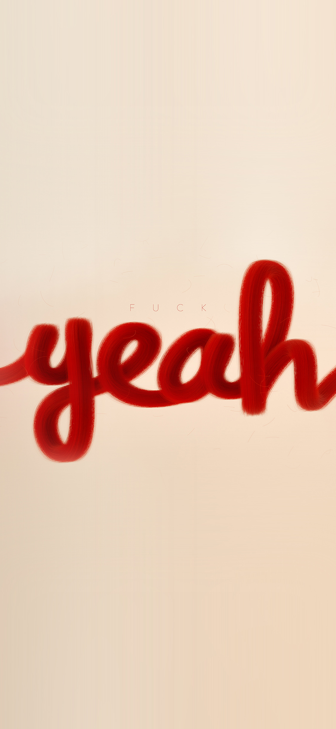 iPhoneXpapers.com-Apple-iPhone-wallpaper-az84-fuck-yeah-red-calligraphy-illustration-art