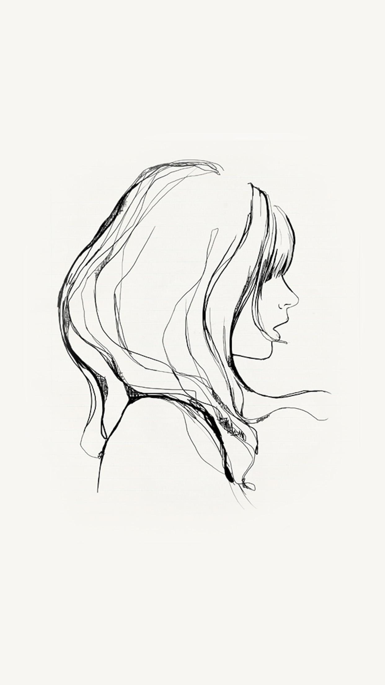 Papersco  Iphone Wallpaper  Az87-Drawing-Simple-Minimal -5724