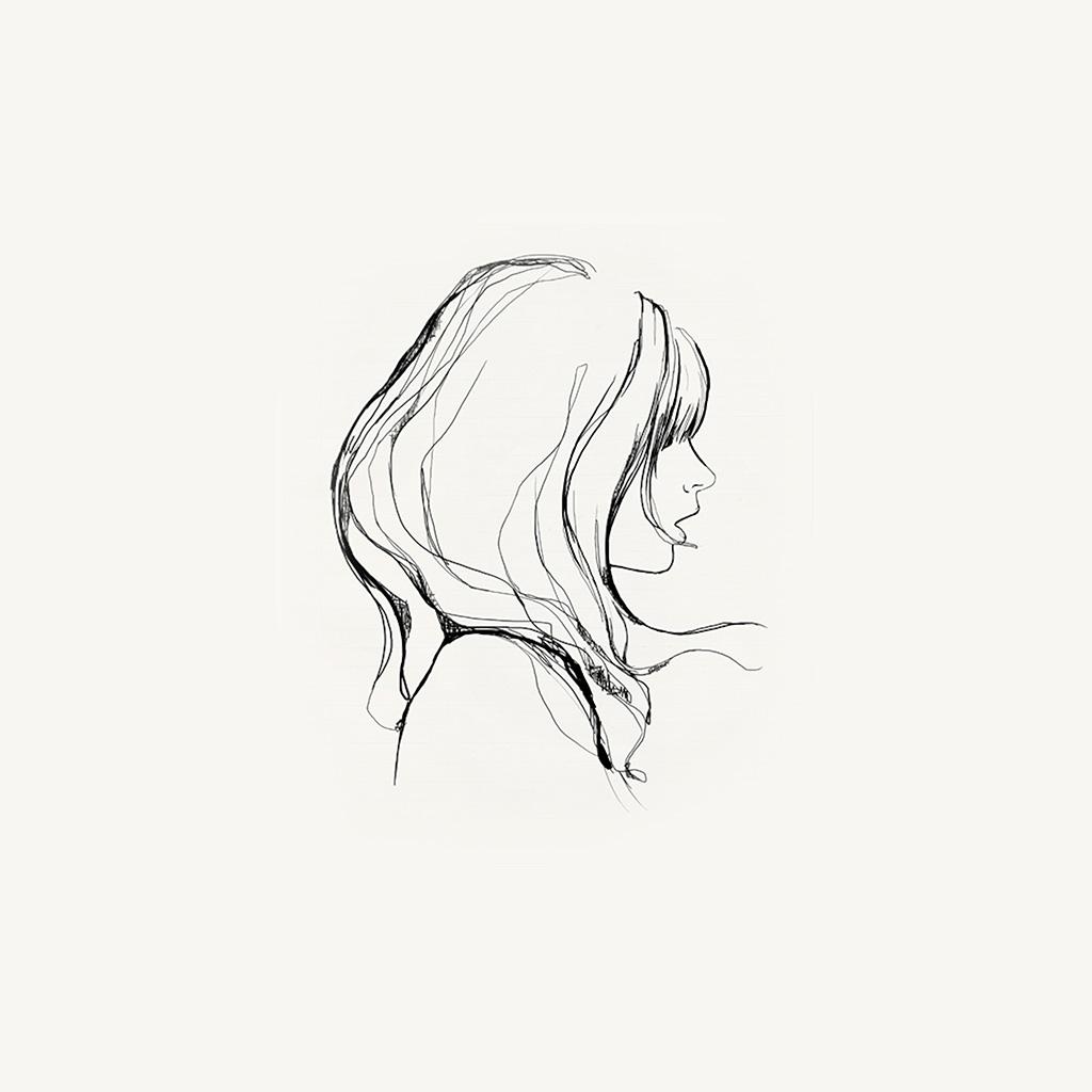 wallpaper-az87-drawing-simple-minimal-girl-illustration-art-wallpaper