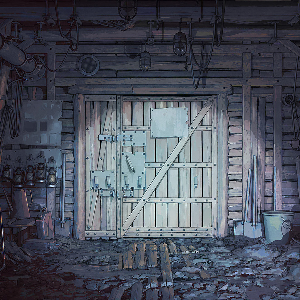 android-wallpaper-az89-painting-dark-house-anime-illustration-art-wallpaper