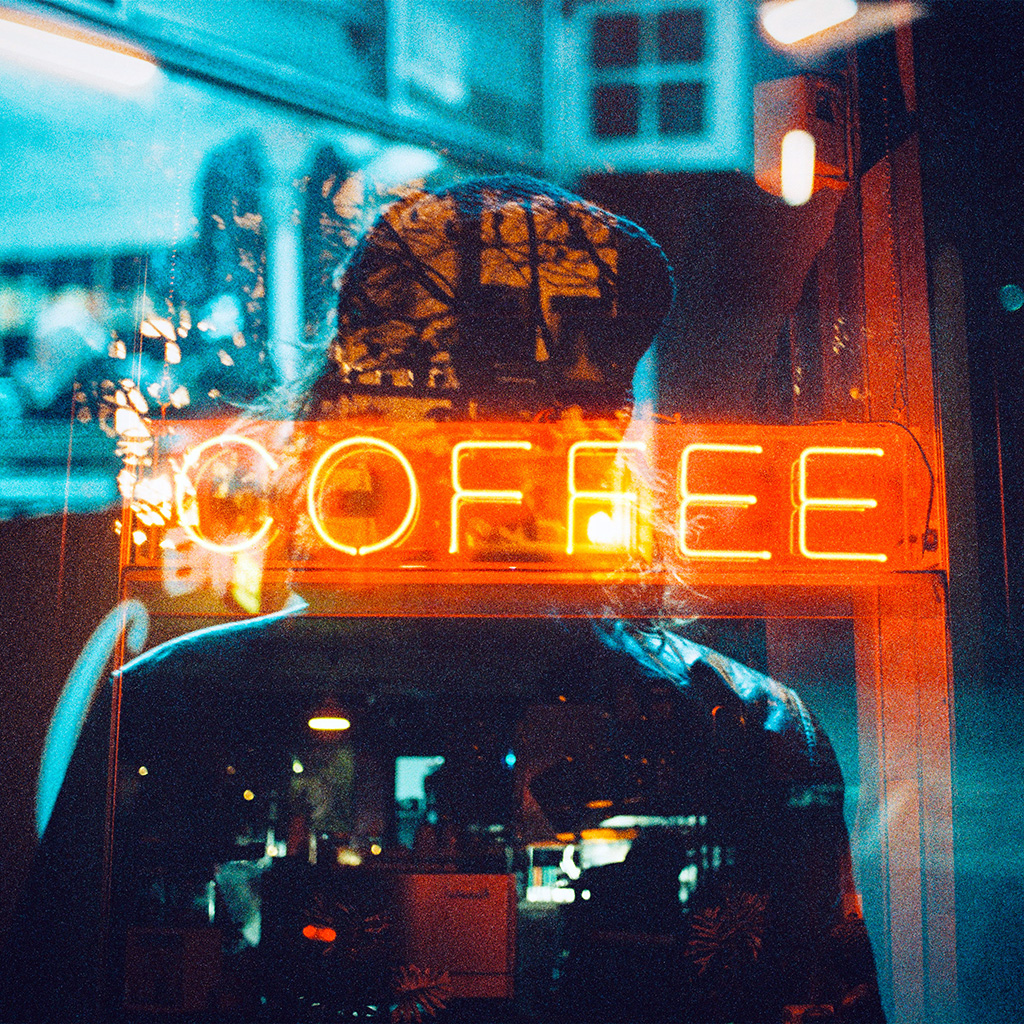 android-wallpaper-az93-coffee-neon-sign-night-illustration-art-wallpaper