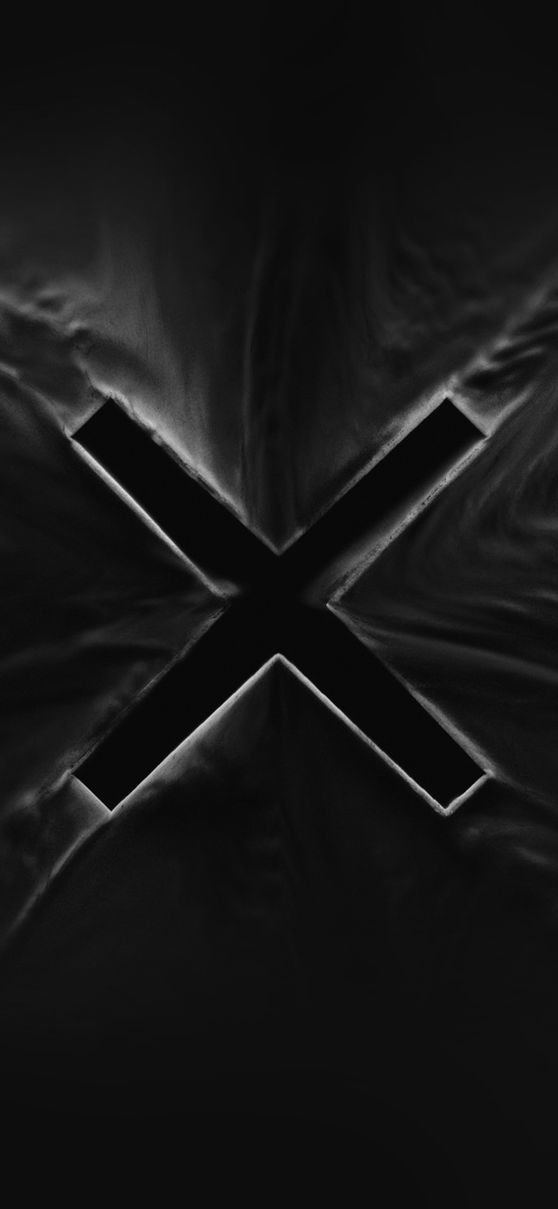 iPhonexpapers.com-Apple-iPhone-wallpaper-az99-x-abstract-alphabet-illustration-art-dark-black-bw