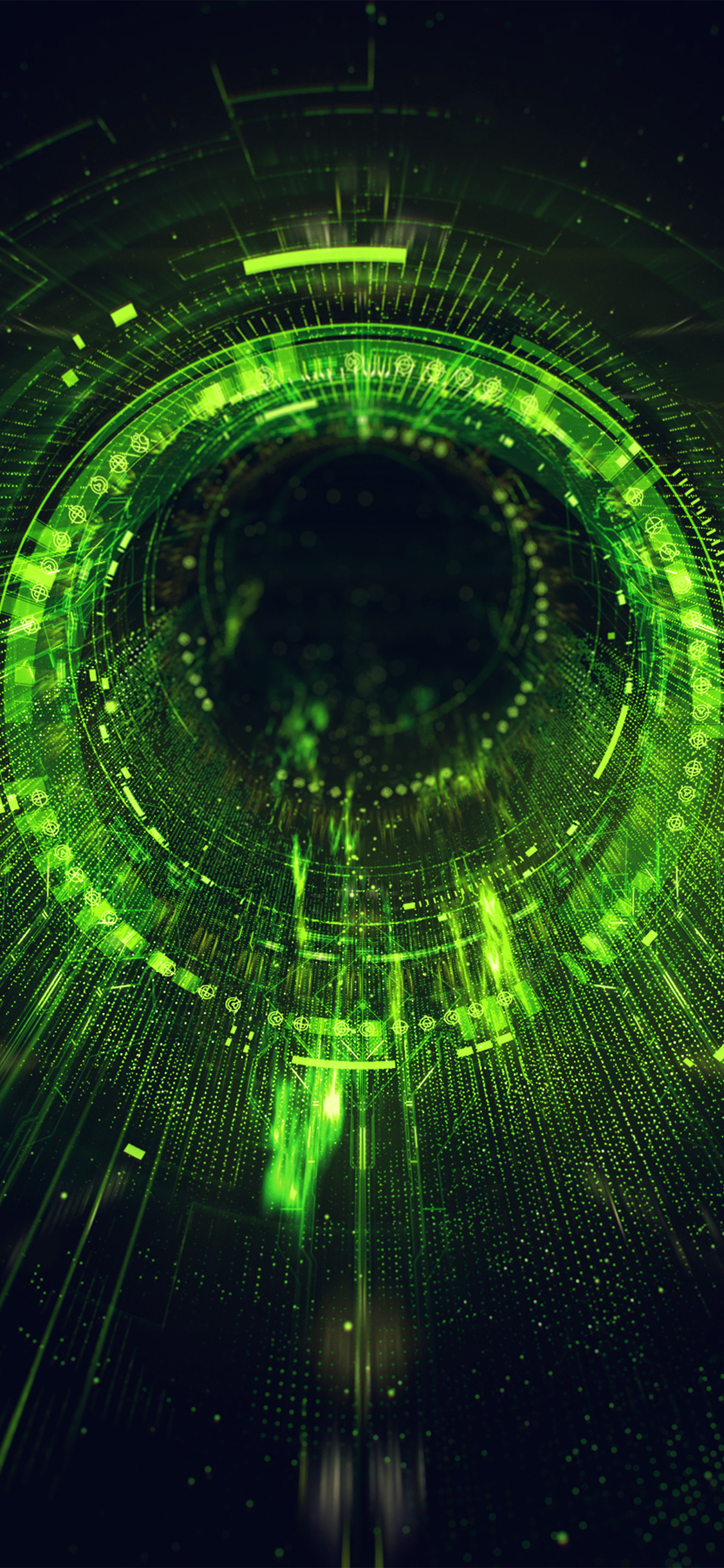 iPhonexpapers.com-Apple-iPhone-wallpaper-ba03-circle-blackhole-green-digital-illustration-art
