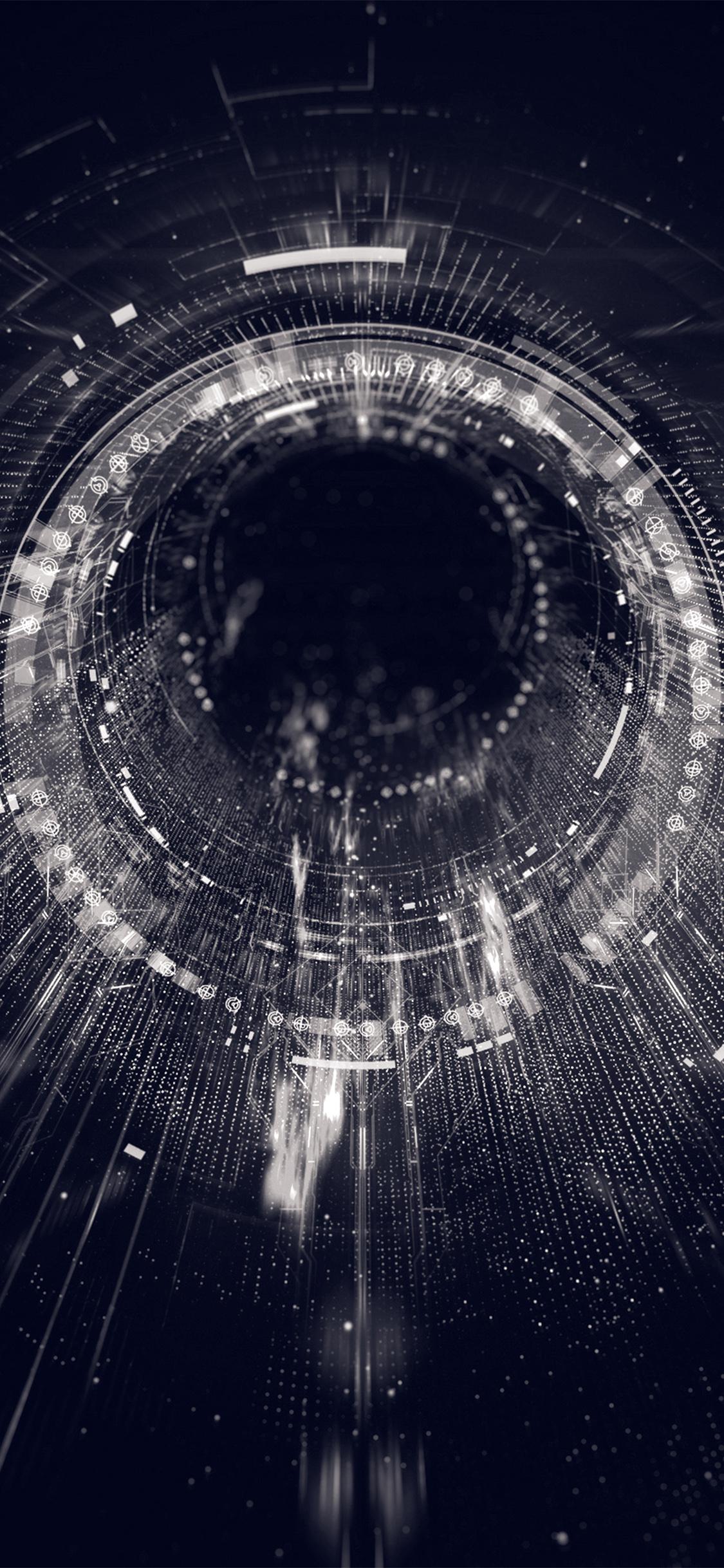 iPhoneXpapers.com-Apple-iPhone-wallpaper-ba06-circle-blackhole-dark-bw-digital-illustration-art