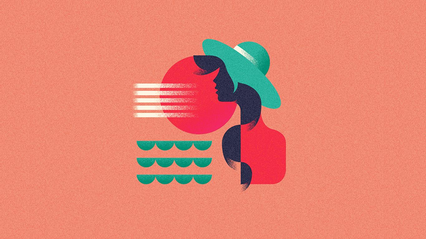 desktop-wallpaper-laptop-mac-macbook-air-ba19-girl-patten-orange-minimal-illustration-art-pink-wallpaper