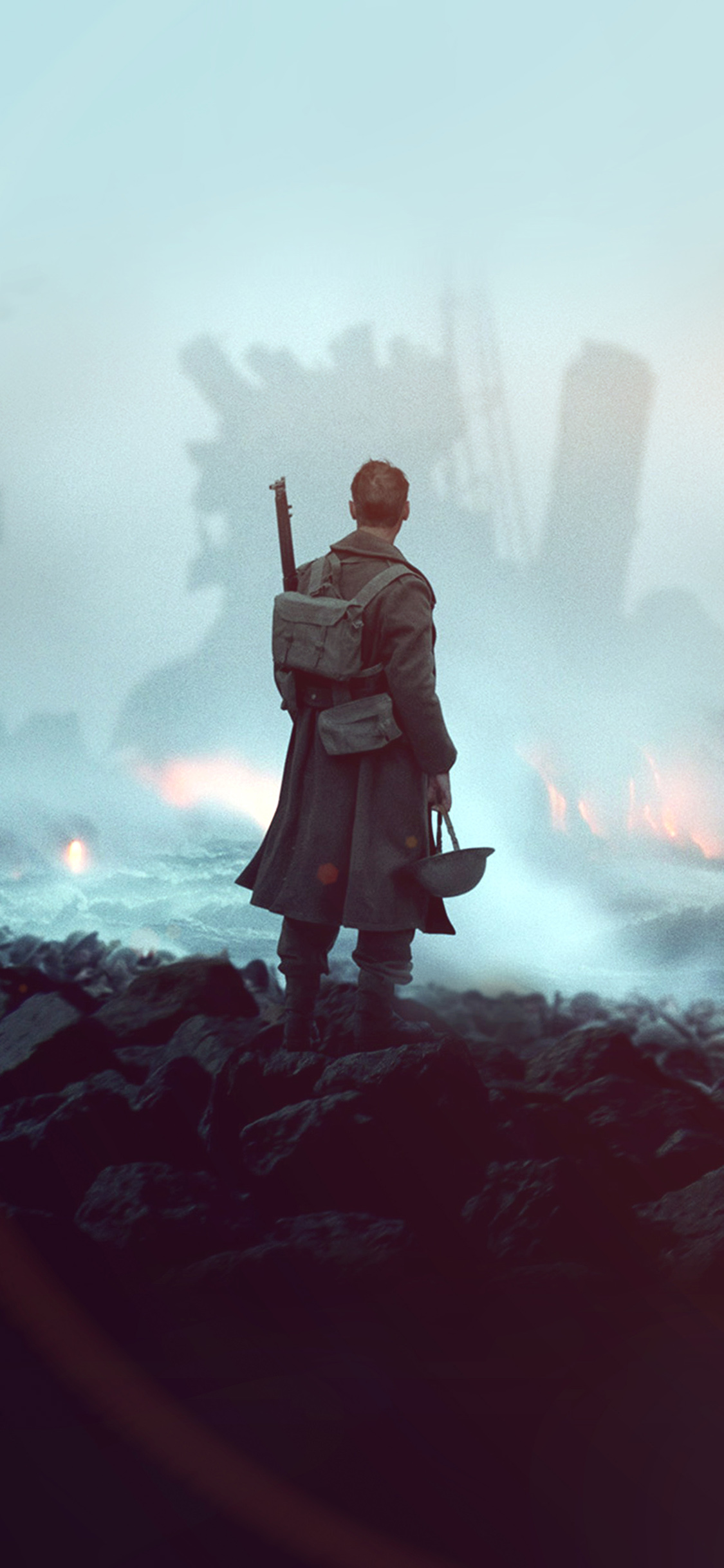 iPhonexpapers.com-Apple-iPhone-wallpaper-ba21-dunkirk-war-film-illustration-art-flare