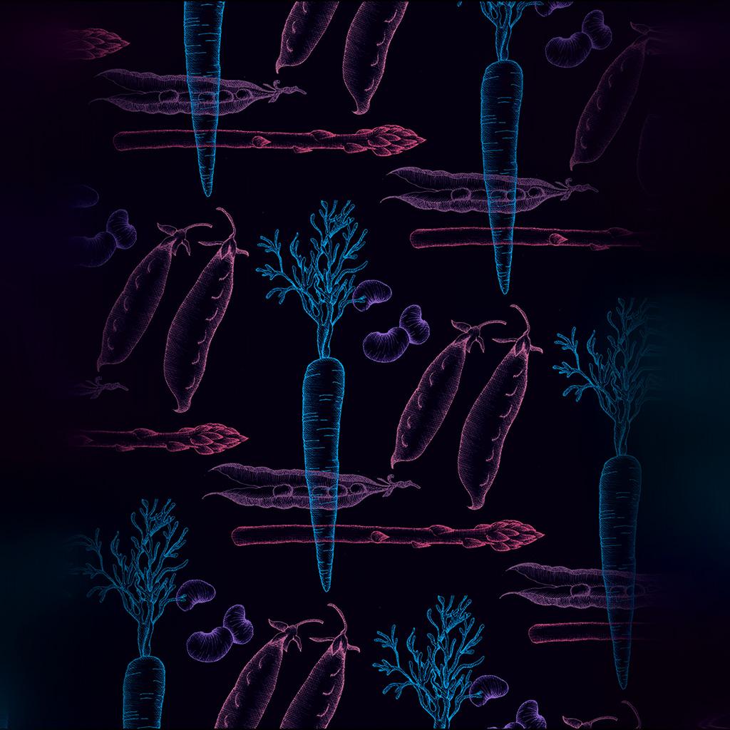 android-wallpaper-ba24-fruit-minimal-cute-illustration-art-dark-wallpaper