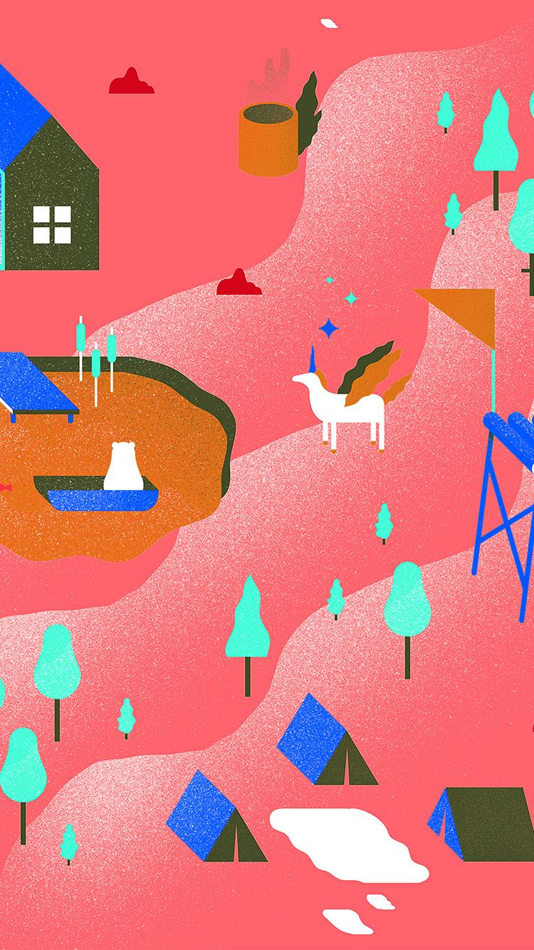 iPhone6papers.co-Apple-iPhone-6-iphone6-plus-wallpaper-ba34-garden-illustration-art-pink