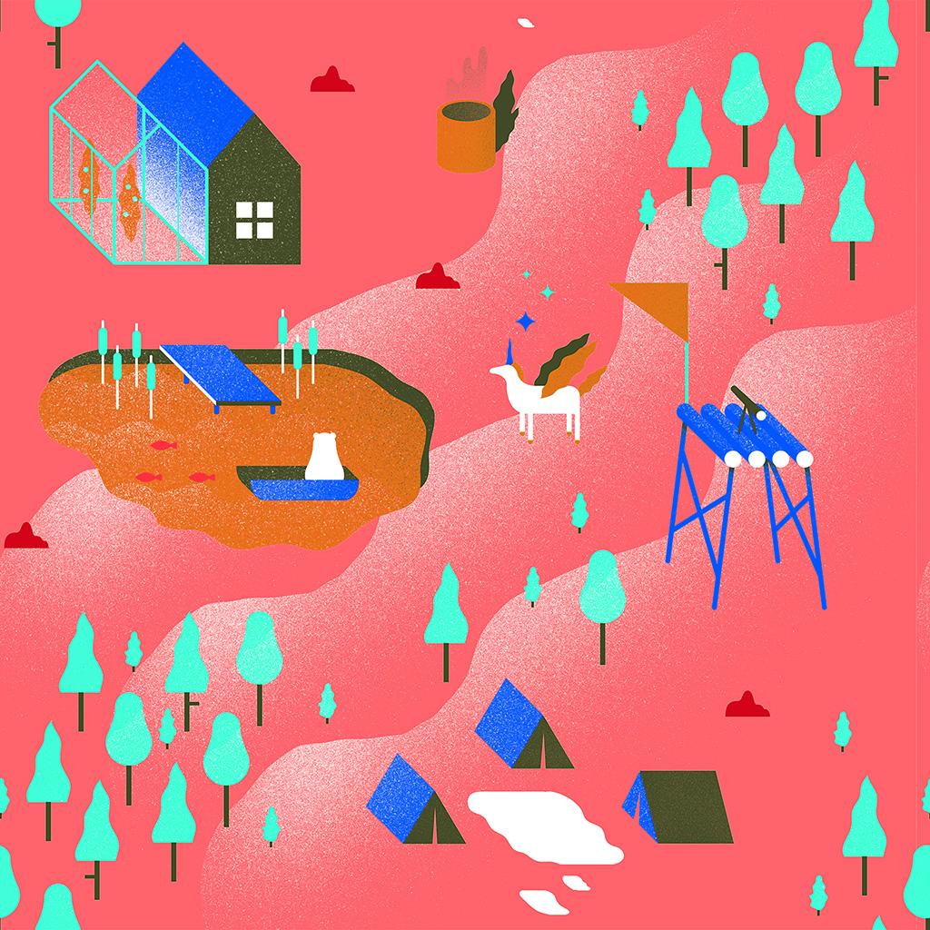 wallpaper-ba34-garden-illustration-art-pink-wallpaper