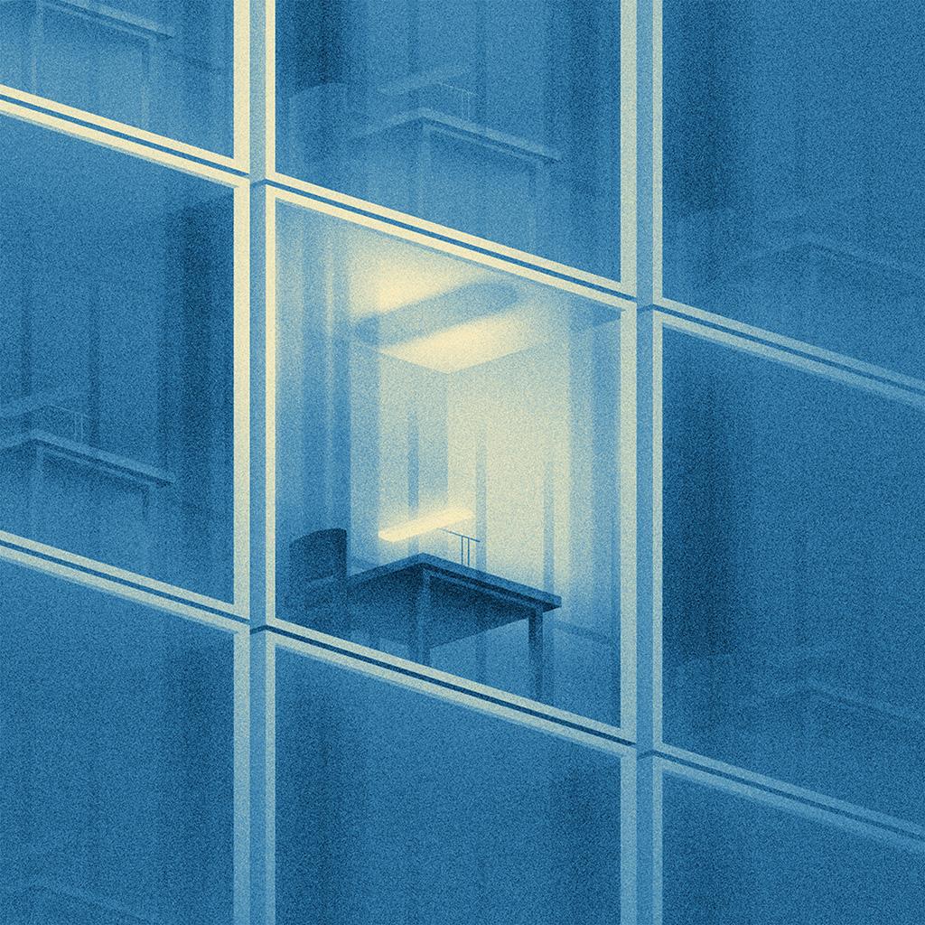 android-wallpaper-ba39-building-blue-dot-illustration-art-wallpaper