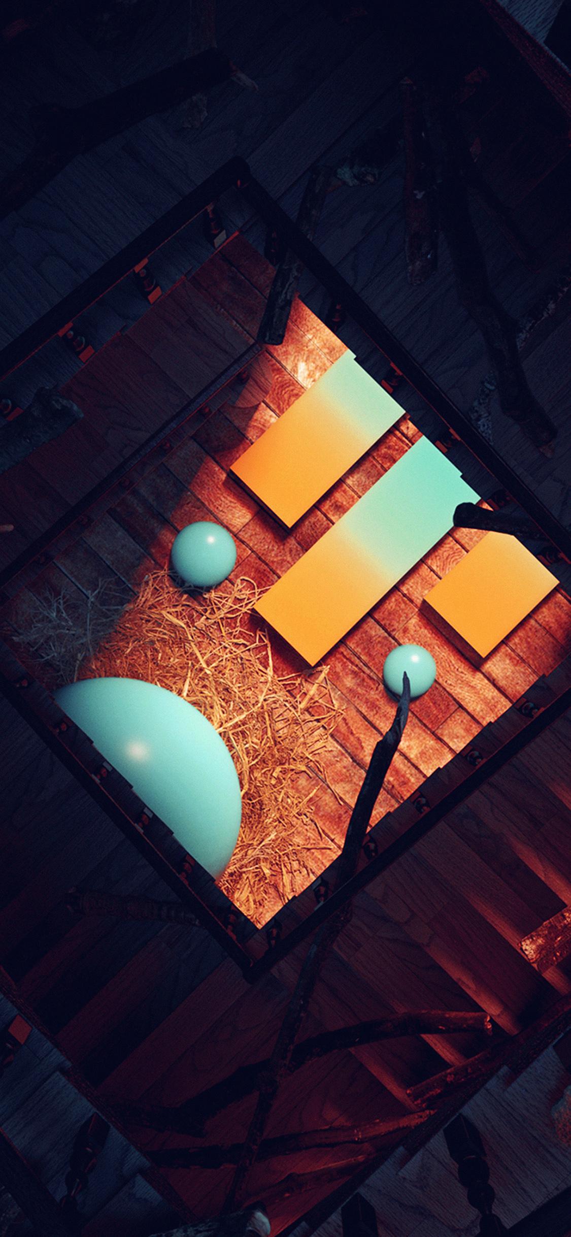 iPhoneXpapers.com-Apple-iPhone-wallpaper-ba48-inside-building-dark-home-illustration-art-blue
