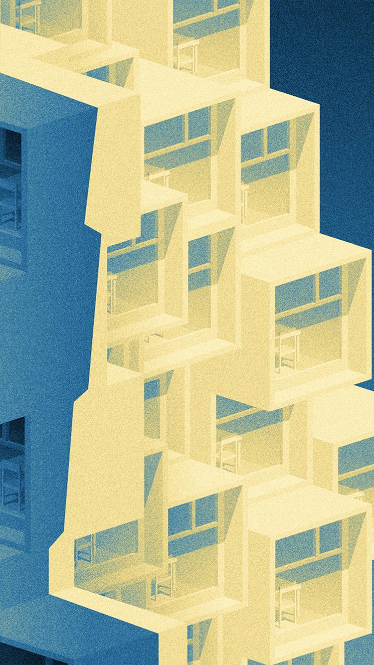 Papers.co-iPhone5-iphone6-plus-wallpaper-ba60-pattern-building-blue-illustration-art