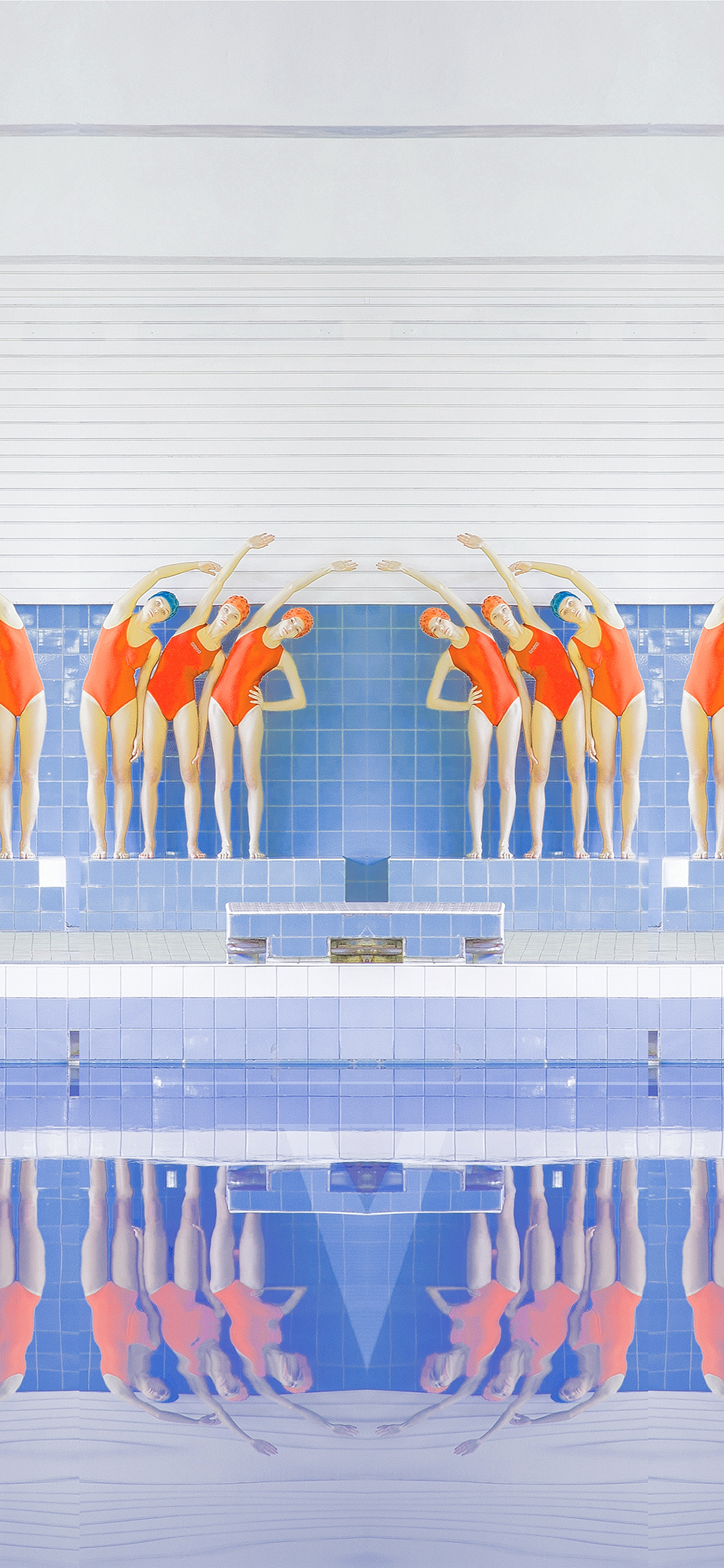 iPhonexpapers.com-Apple-iPhone-wallpaper-ba69-swim-girls-illustration-art-rainbow-color