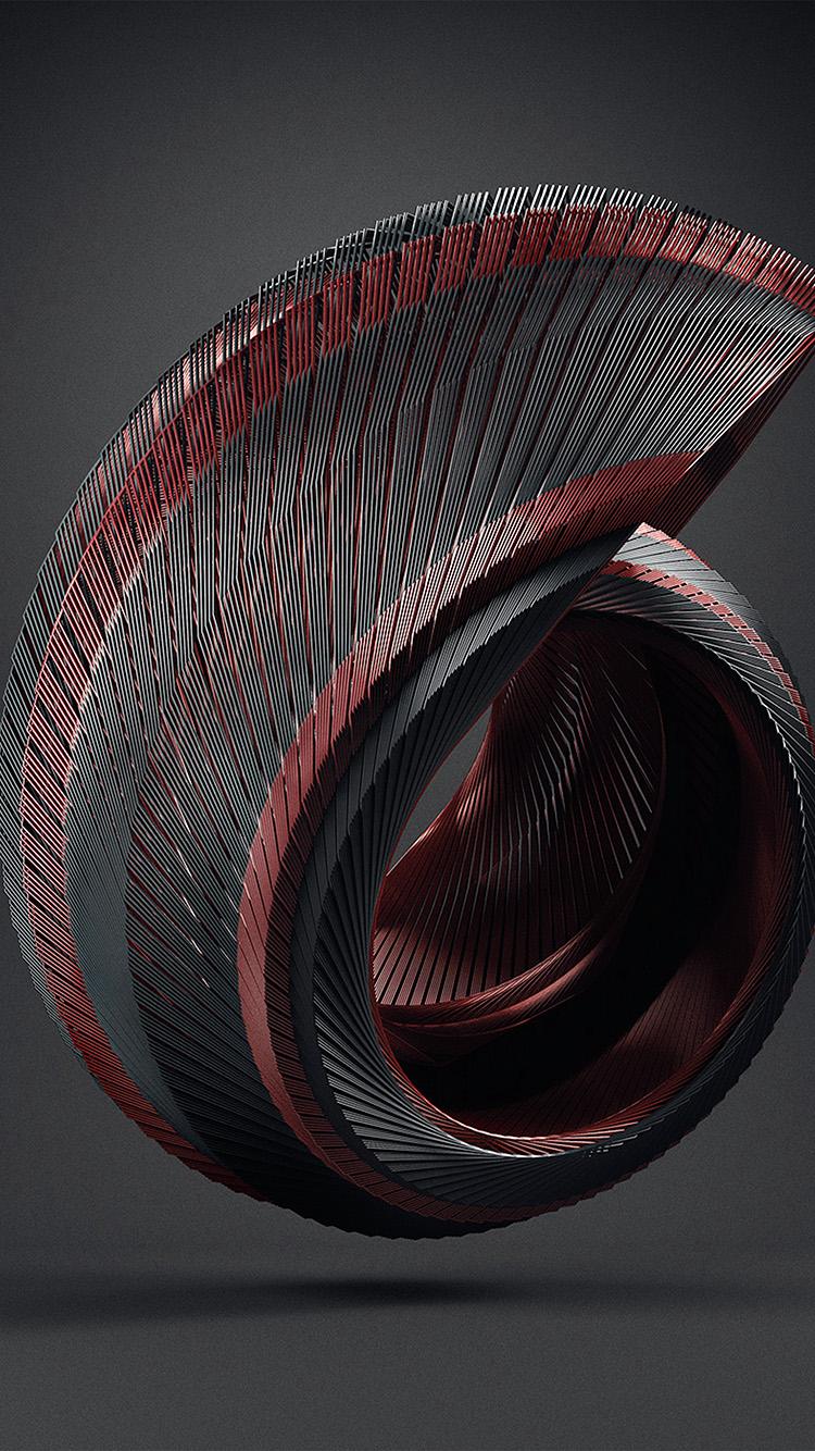 iPhonepapers.com-Apple-iPhone-wallpaper-bb00-circle-digital-3d-dark-illustration-art-red