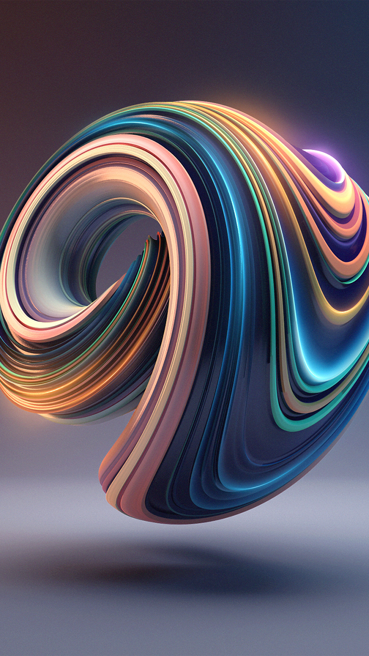 Bb01 Digital Art Color Circle Illustration Art 3d Wallpaper