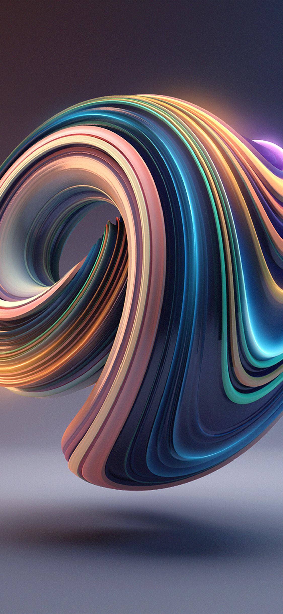 Bb01 Digital Art Color Circle Illustration Art 3d