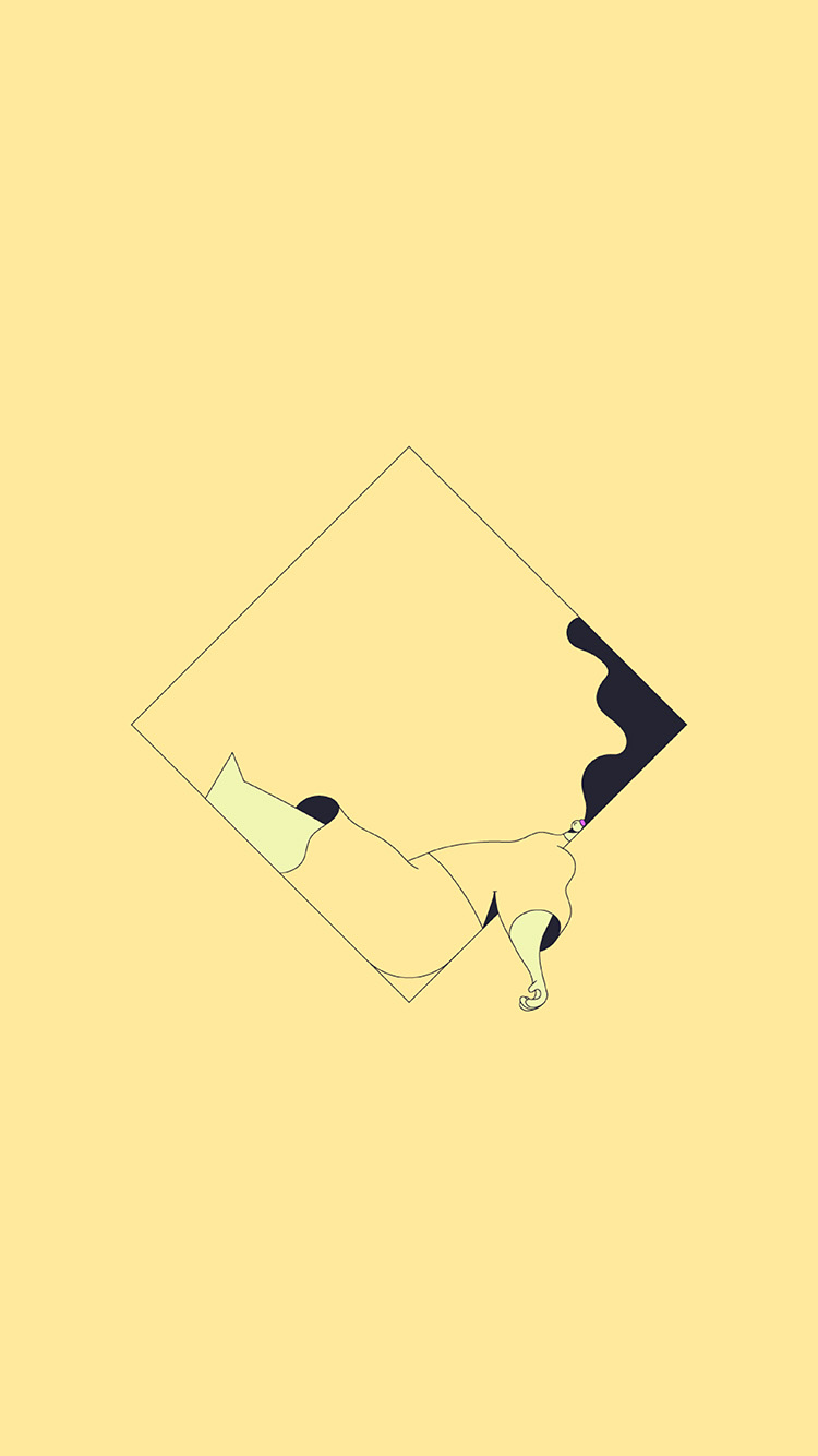 iPhone7papers.com-Apple-iPhone7-iphone7plus-wallpaper-bb09-minimal-drawing-yellow-illustration-art