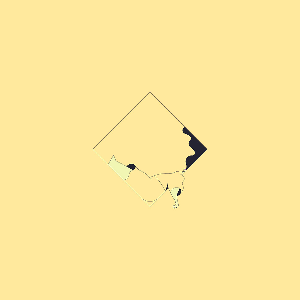 android-wallpaper-bb09-minimal-drawing-yellow-illustration-art-wallpaper