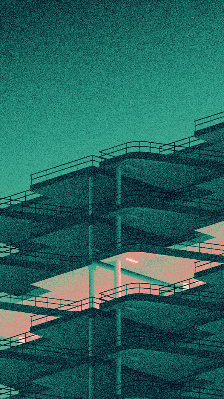 Papers.co-iPhone5-iphone6-plus-wallpaper-bb12-architecture-minimal-green-illustration-art