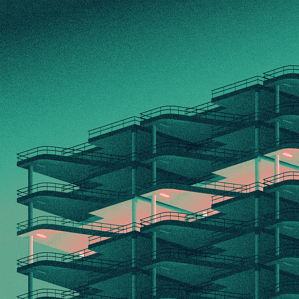 wallpaper-bb12-architecture-minimal-green-illustration-art-wallpaper