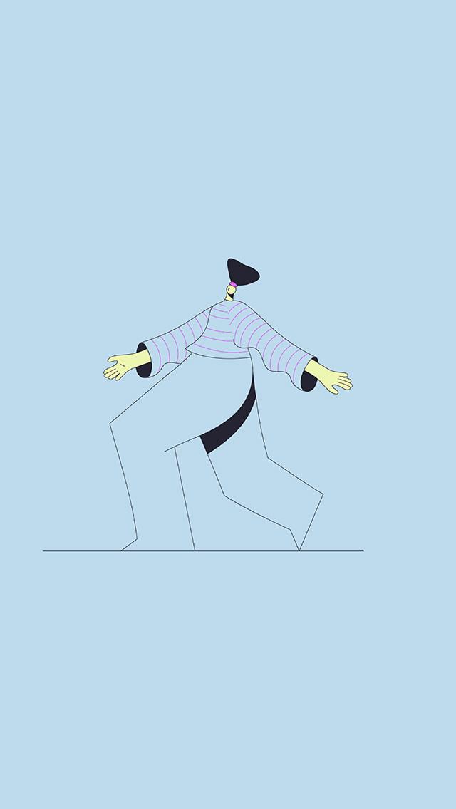 freeios8.com-iphone-4-5-6-plus-ipad-ios8-bb16-minimal-blue-art-illustration-art-character