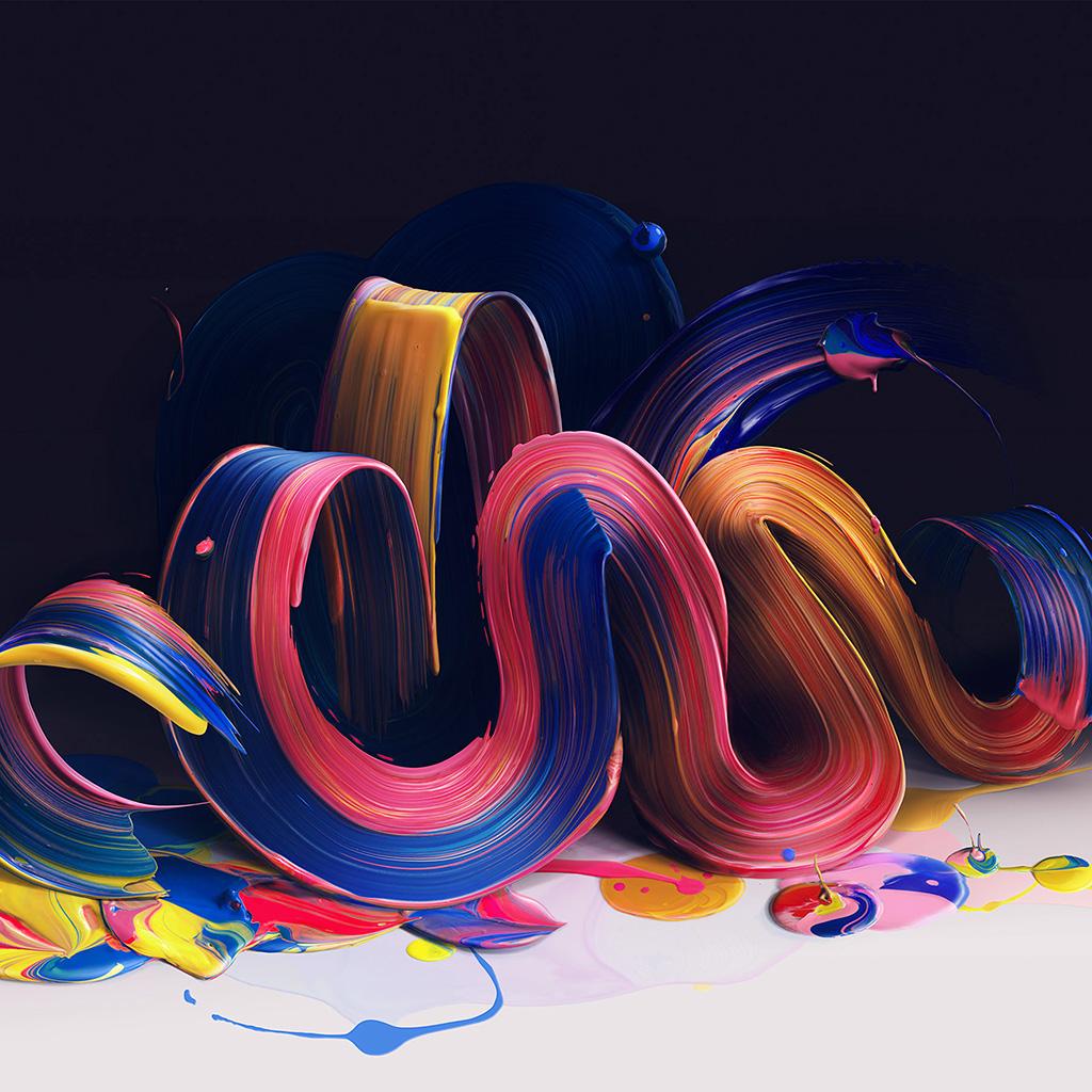 wallpaper-bb22-paint-color-rainbow-digital-illustration-art-blue-wallpaper