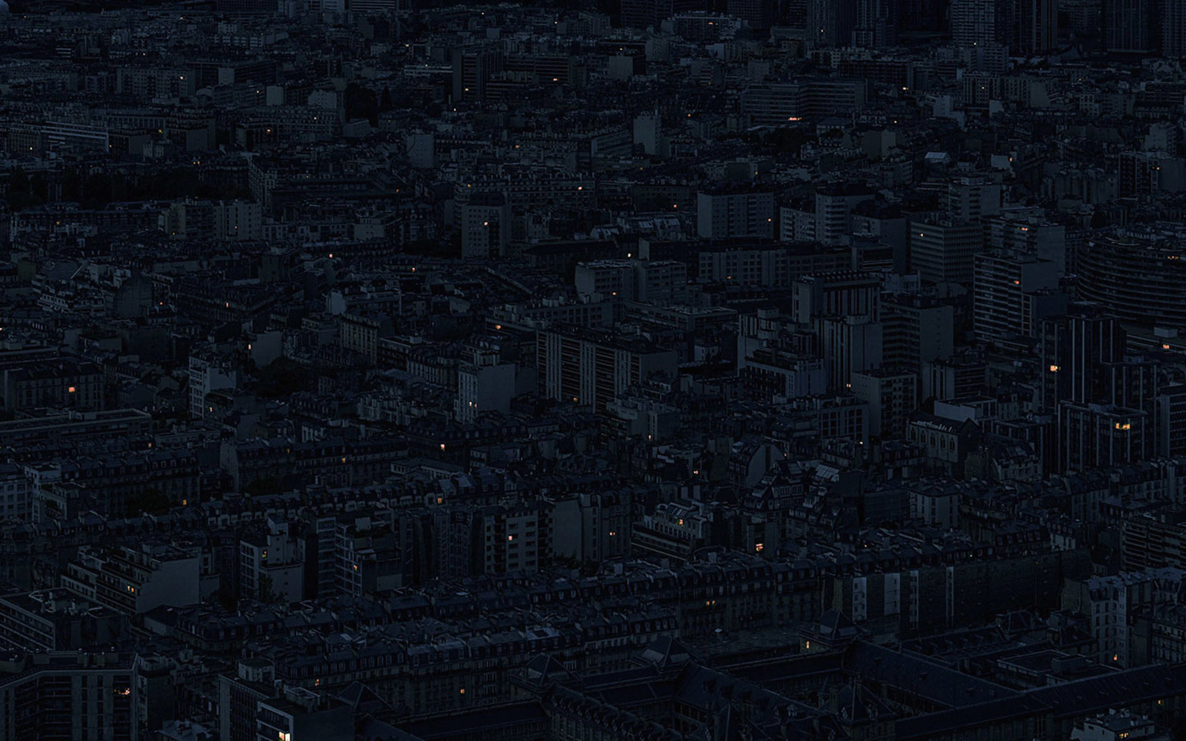 Bb39 Night City Dark Minimal Illustration Art Wallpaper