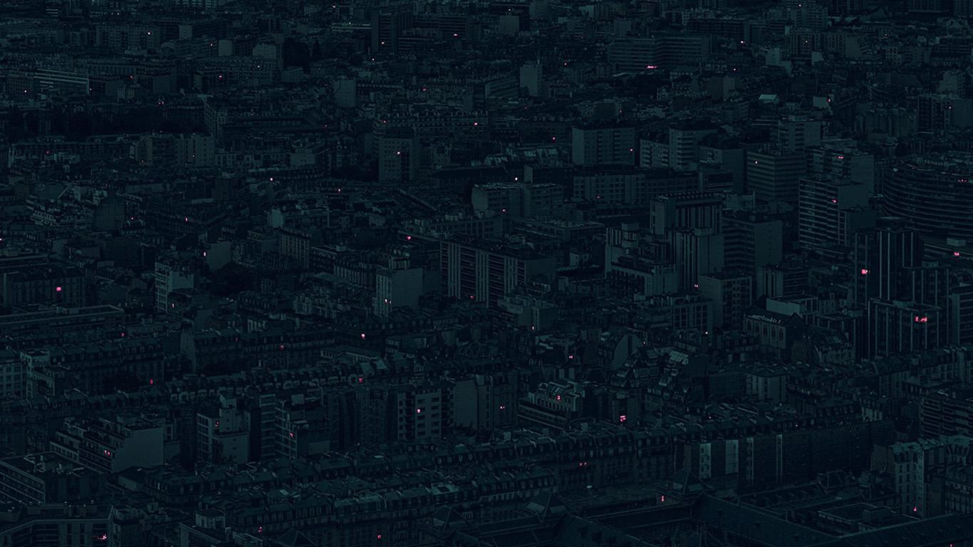papers.co bb40 night city dark minimal illustration art green 29 wallpaper