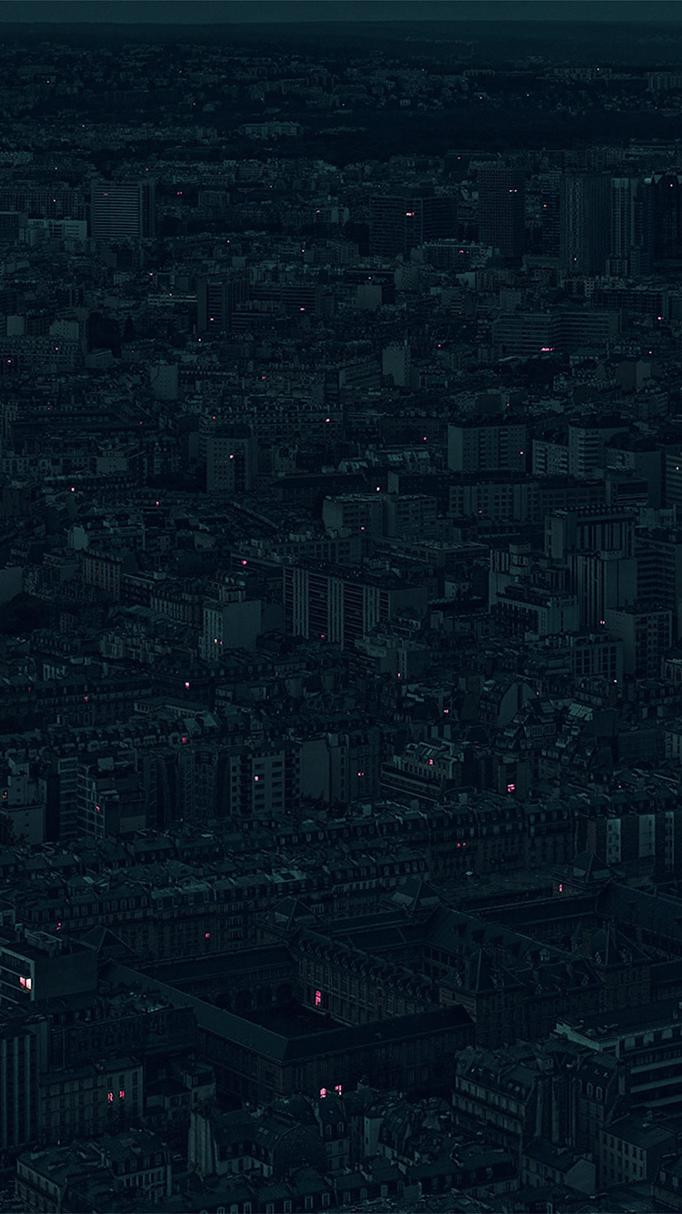 iPhonepapers.com-Apple-iPhone-wallpaper-bb40-night-city-dark-minimal-illustration-art-green