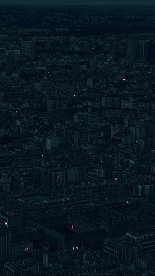 freeios8.com-iphone-4-5-6-plus-ipad-ios8-bb40-night-city-dark-minimal-illustration-art-green