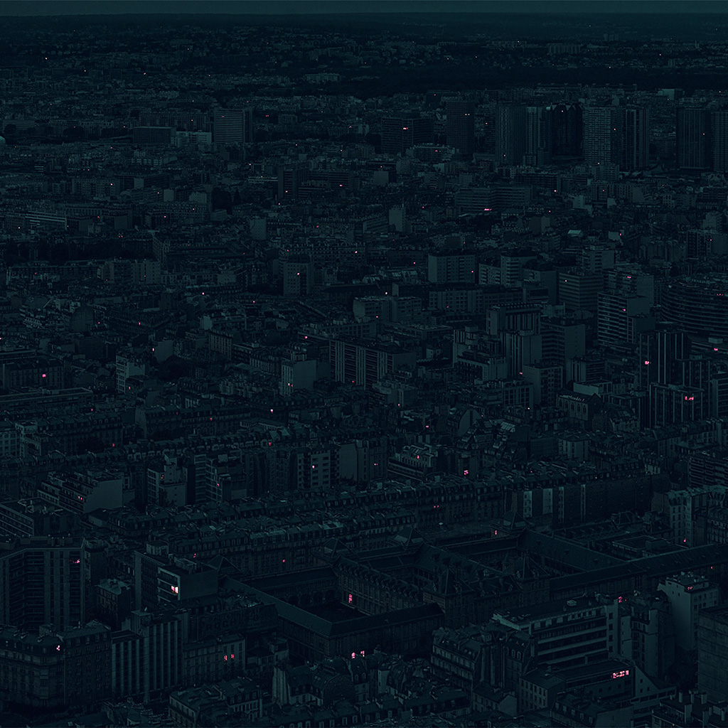 wallpaper-bb40-night-city-dark-minimal-illustration-art-green-wallpaper
