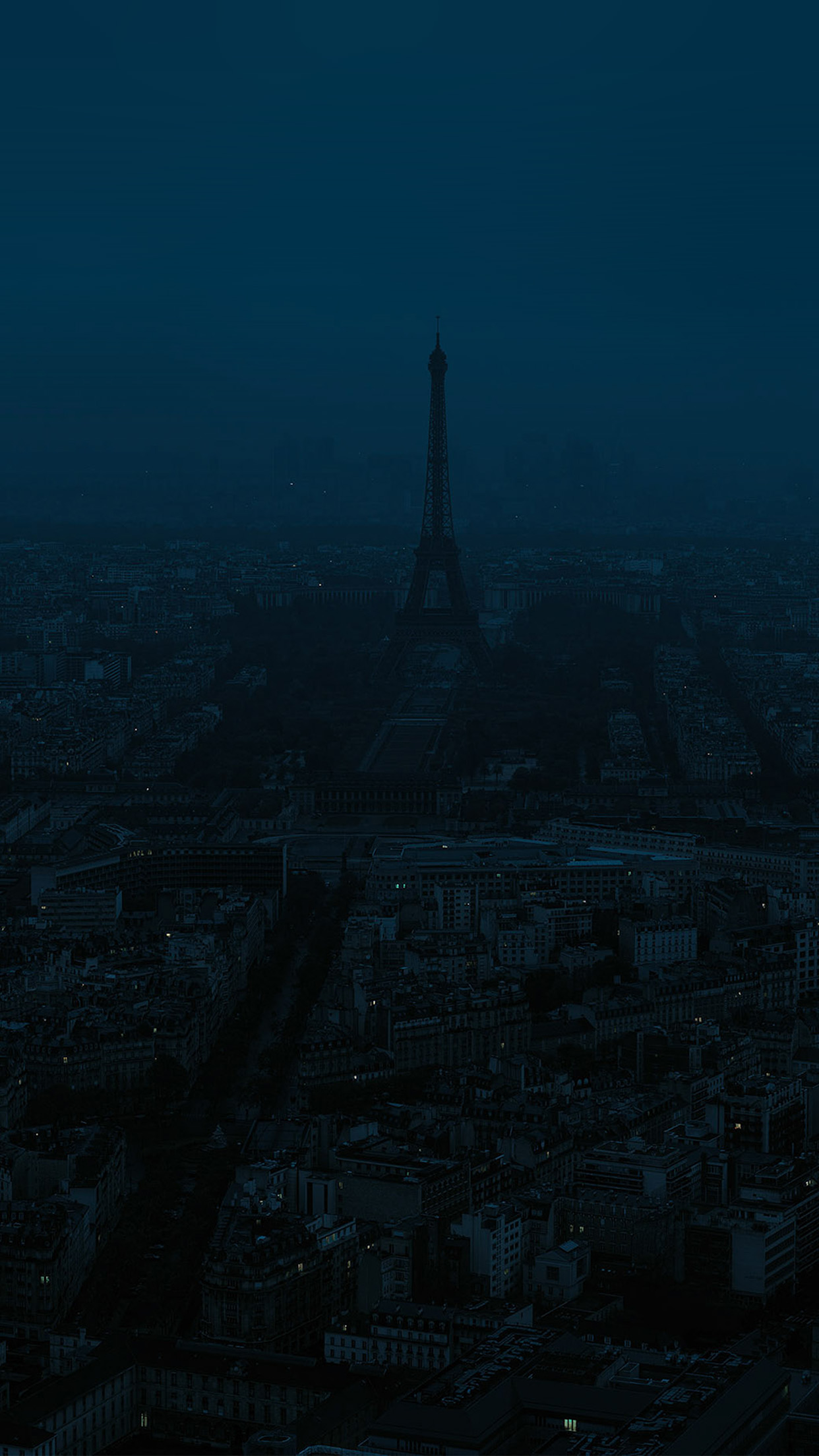 bb42-paris-dark-blue-city-illustration-art-wallpaper