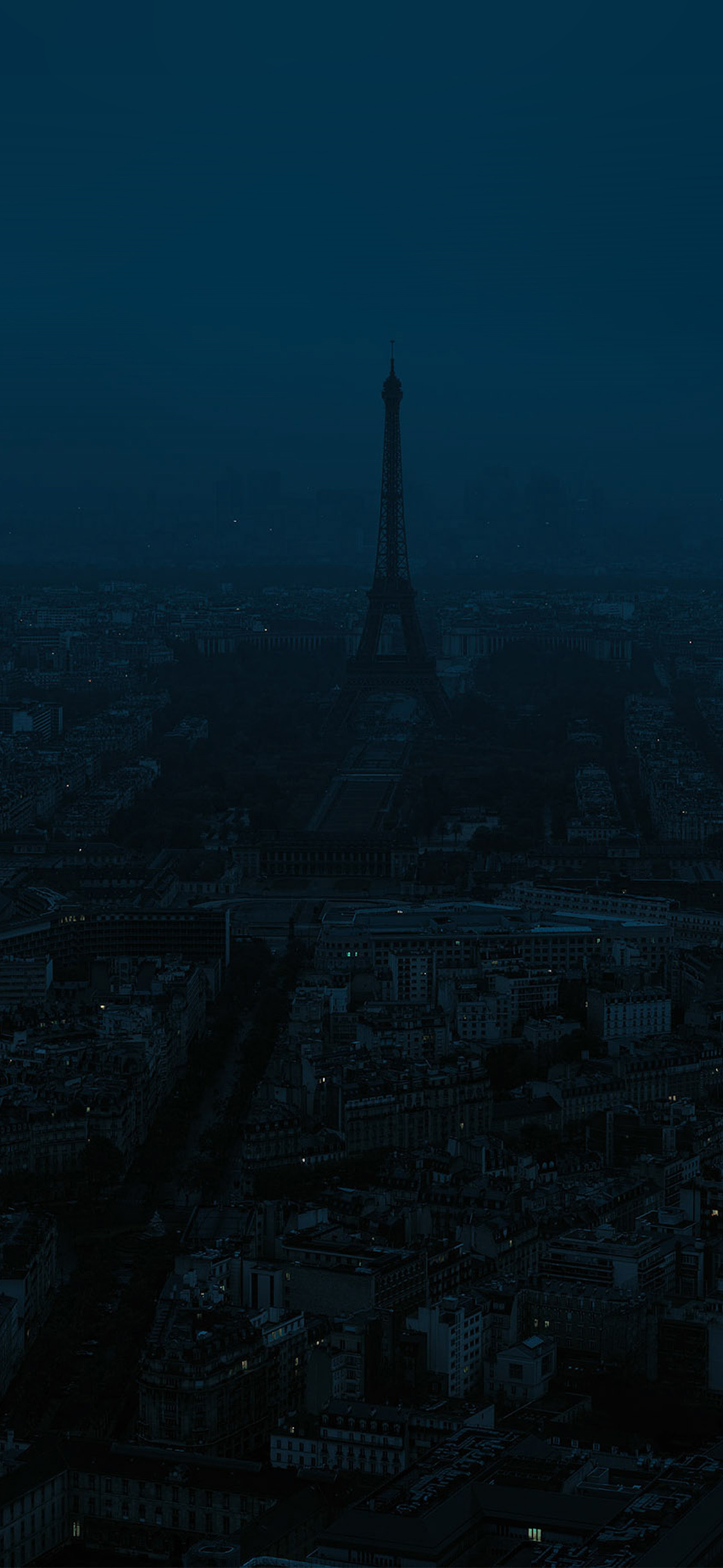 iPhoneXpapers.com-Apple-iPhone-wallpaper-bb42-paris-dark-blue-city-illustration-art