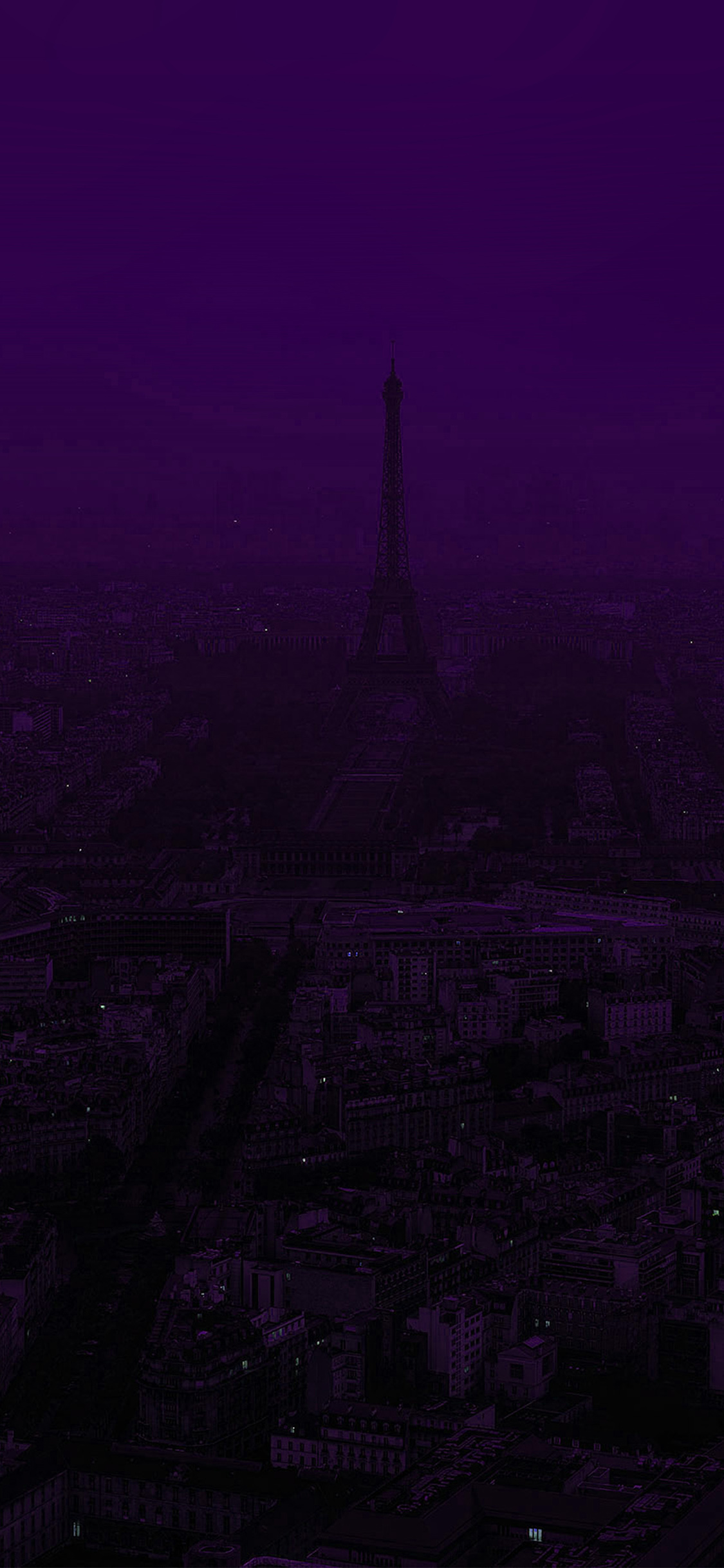 iPhonexpapers.com-Apple-iPhone-wallpaper-bb43-paris-dark-purple-city-illustration-art