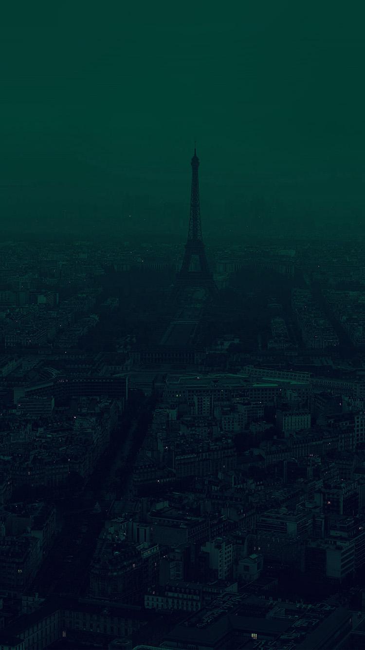 iPhonepapers.com-Apple-iPhone-wallpaper-bb44-paris-dark-green-city-illustration-art
