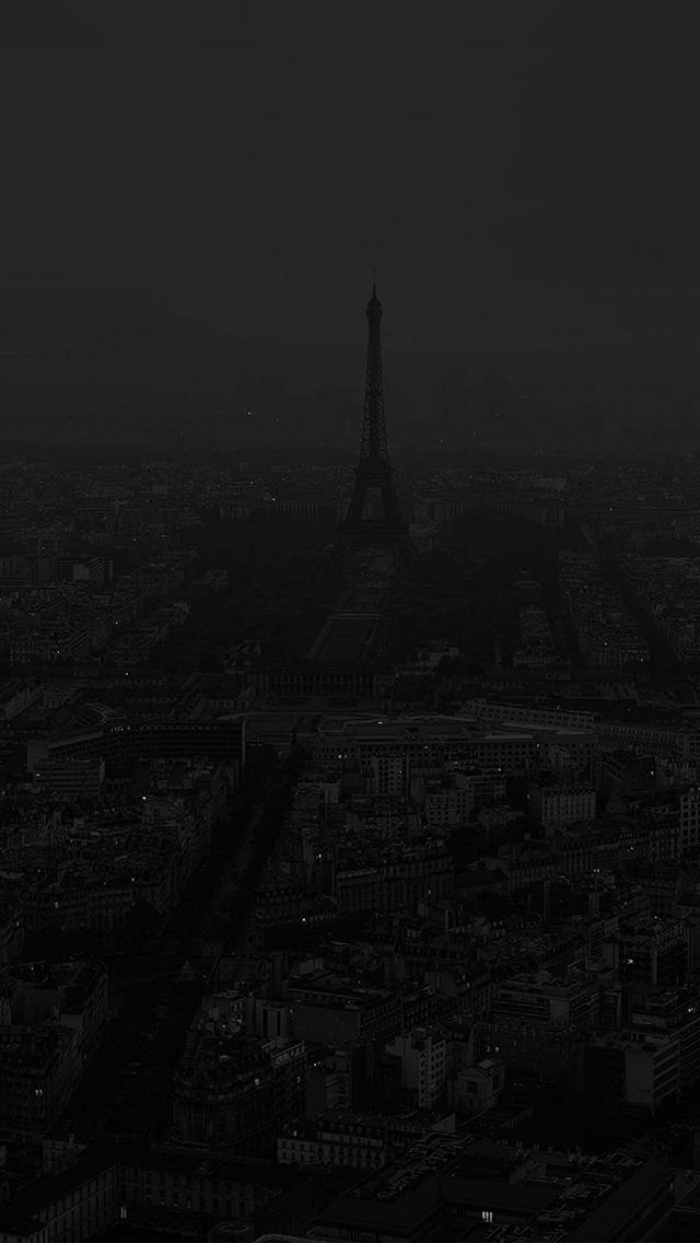 freeios8.com-iphone-4-5-6-plus-ipad-ios8-bb45-paris-dark-bw-city-illustration-art
