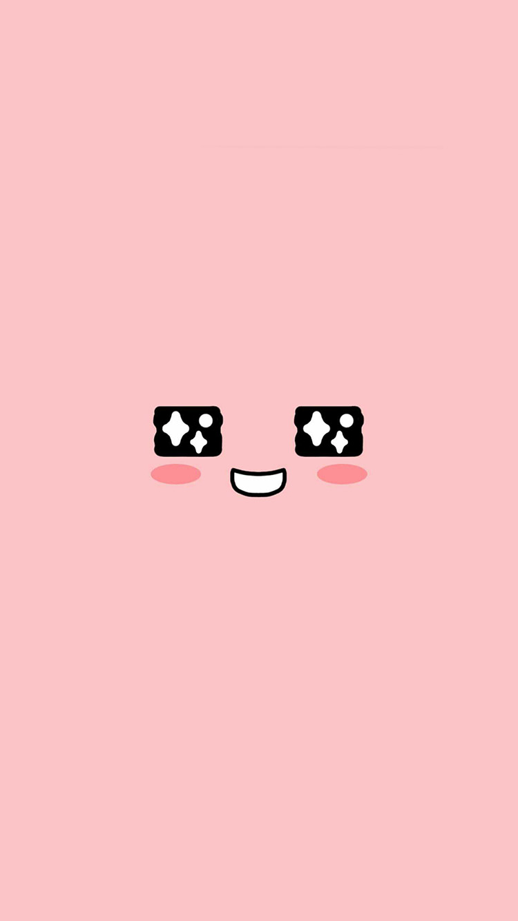Papers.co-iPhone5-iphone6-plus-wallpaper-bb55-cute-kakao-face-pink-illustration-art