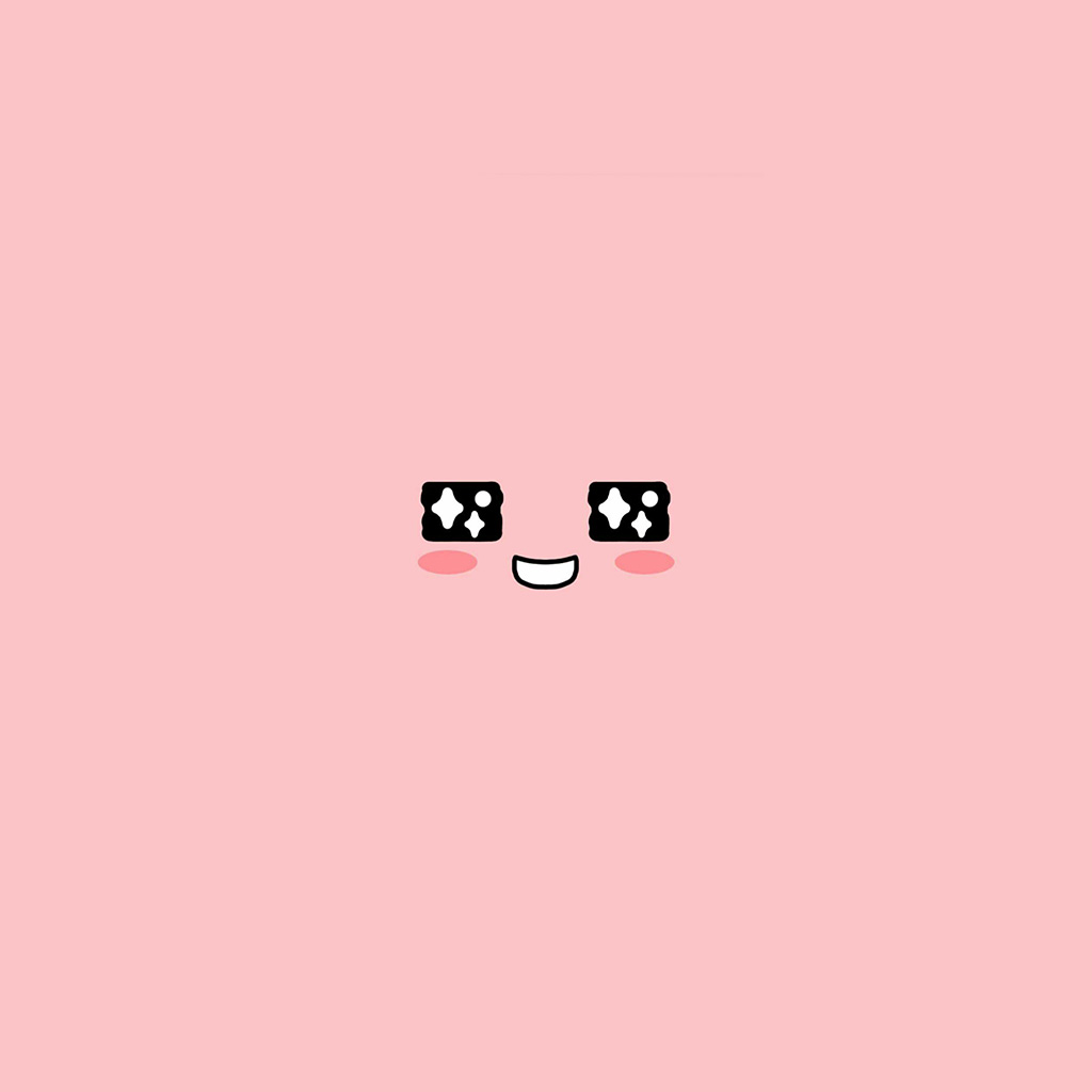 android-wallpaper-bb55-cute-kakao-face-pink-illustration-art-wallpaper