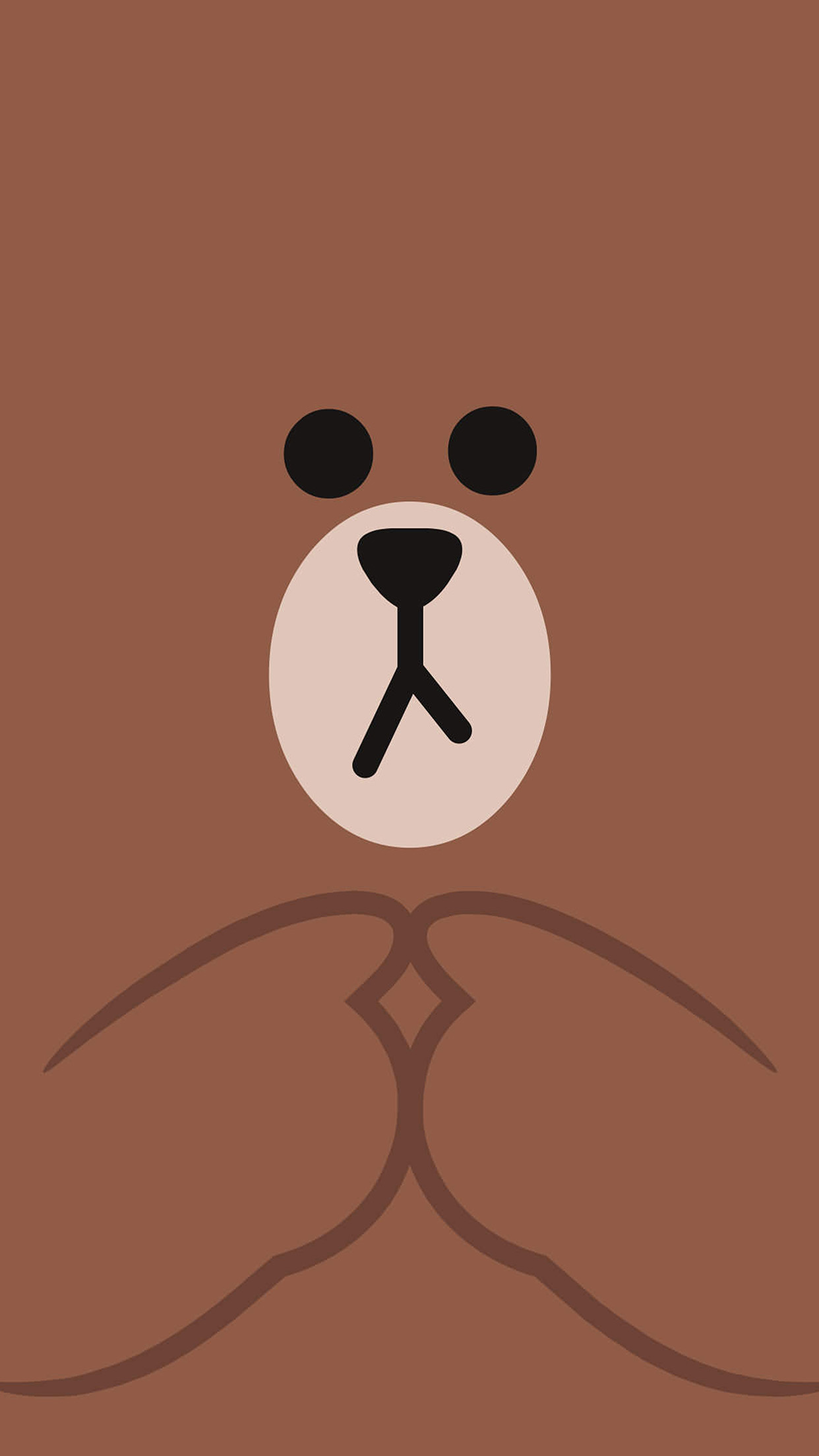 cute bear cartoon wallpaper | adsleaf