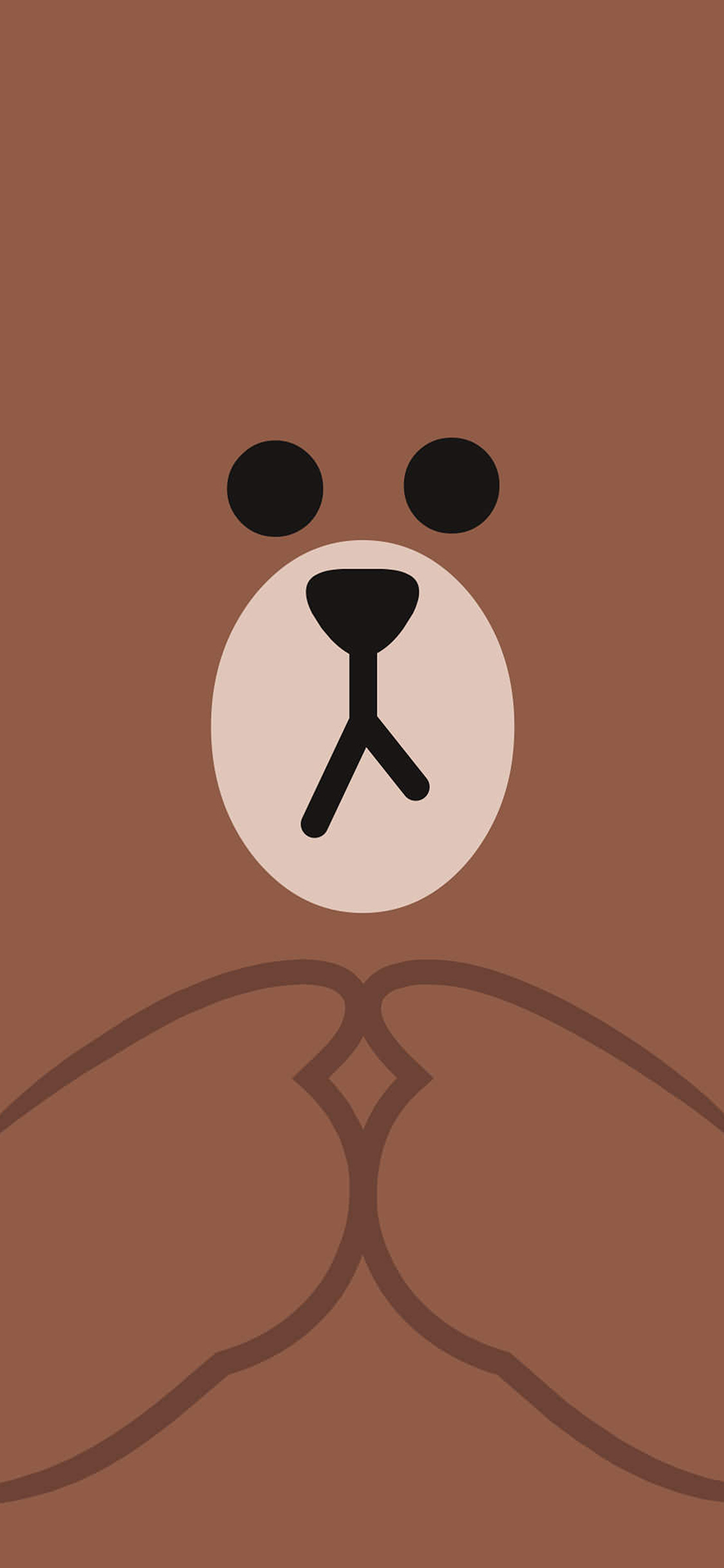 iPhoneXpapers.com-Apple-iPhone-wallpaper-bb60-kakao-charactor-cute-brown-illustration-art