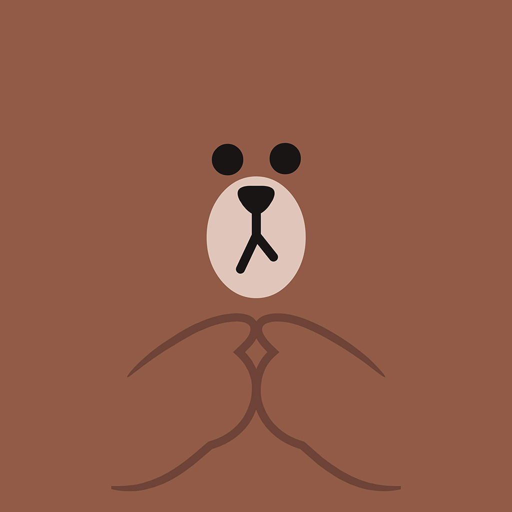 wallpaper-bb60-kakao-charactor-cute-brown-illustration-art-wallpaper