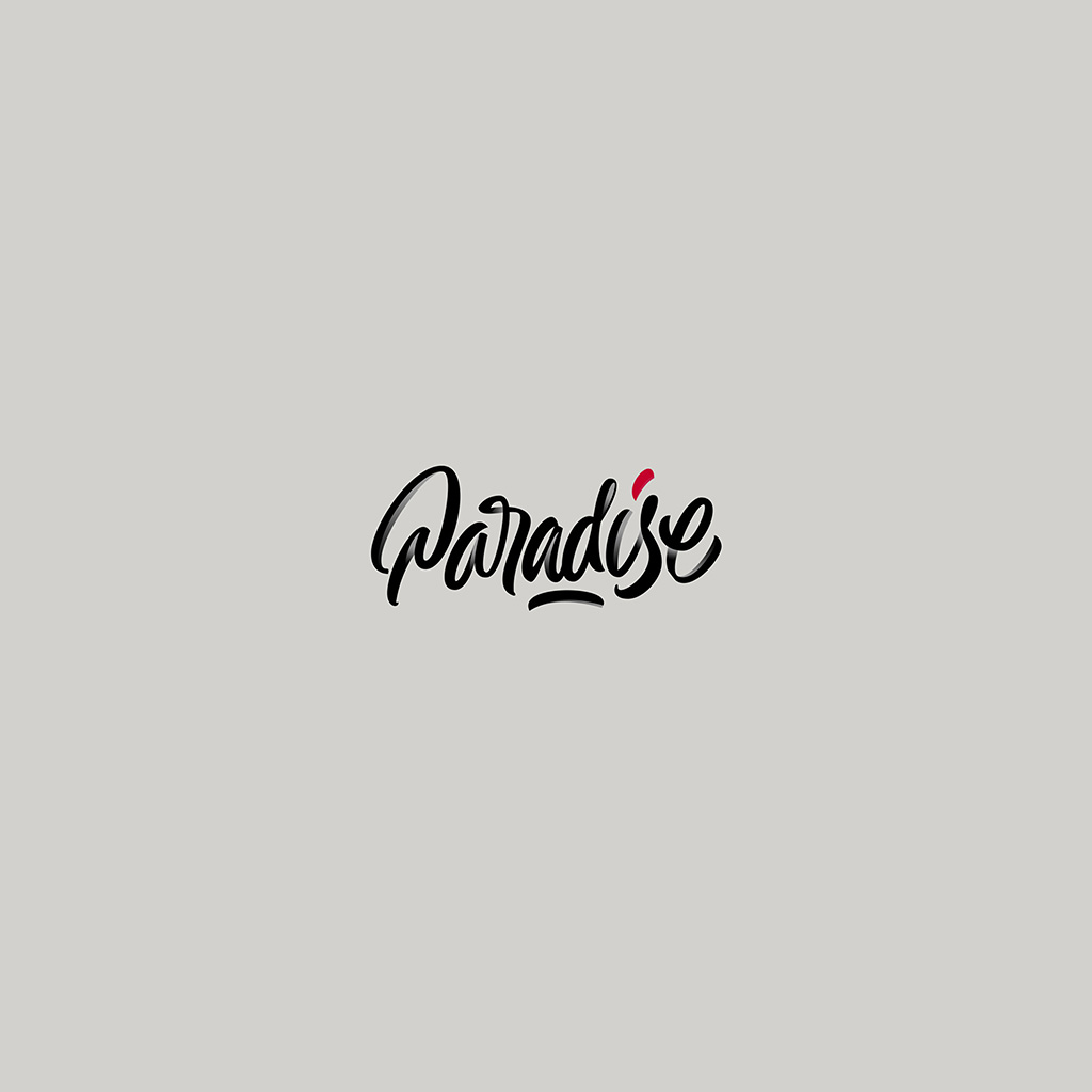android-wallpaper-bc09-paradise-logo-art-illustration-white-wallpaper