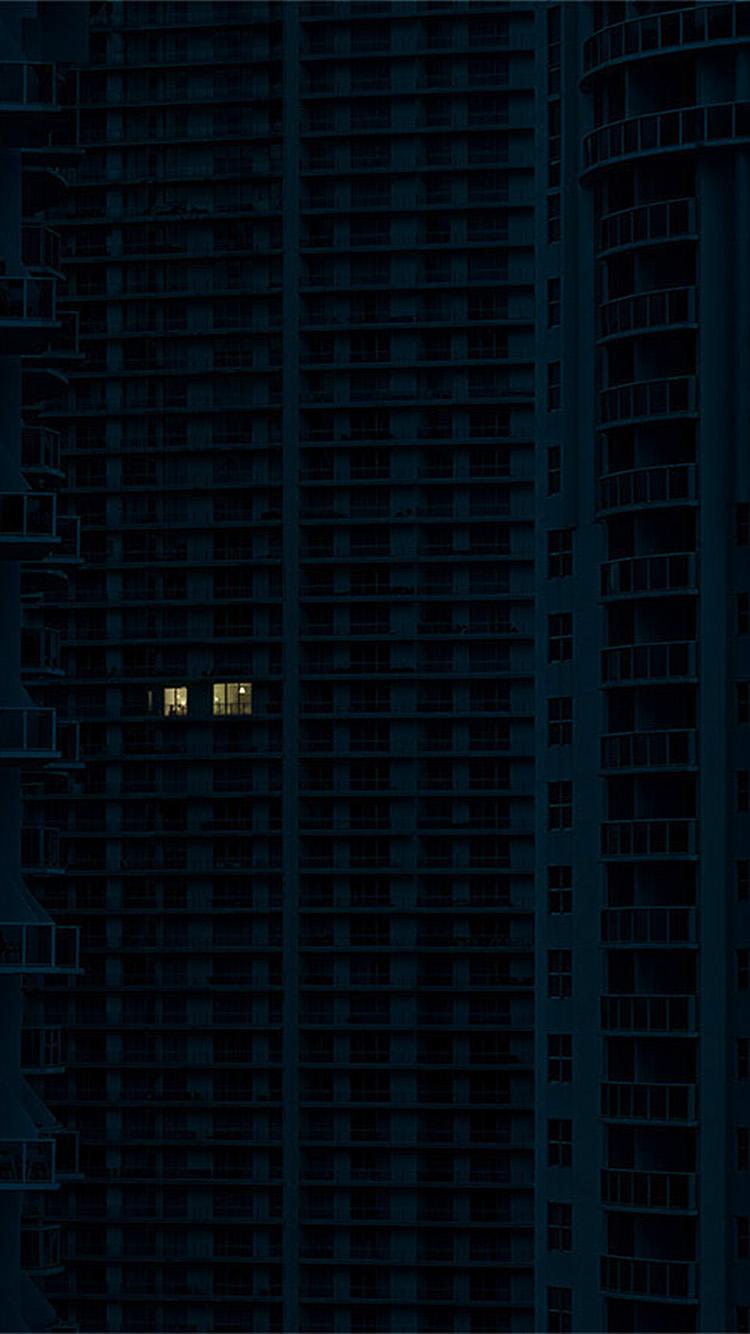 iPhonepapers.com-Apple-iPhone-wallpaper-bc34-night-city-building-architecture-art-illustration-blue