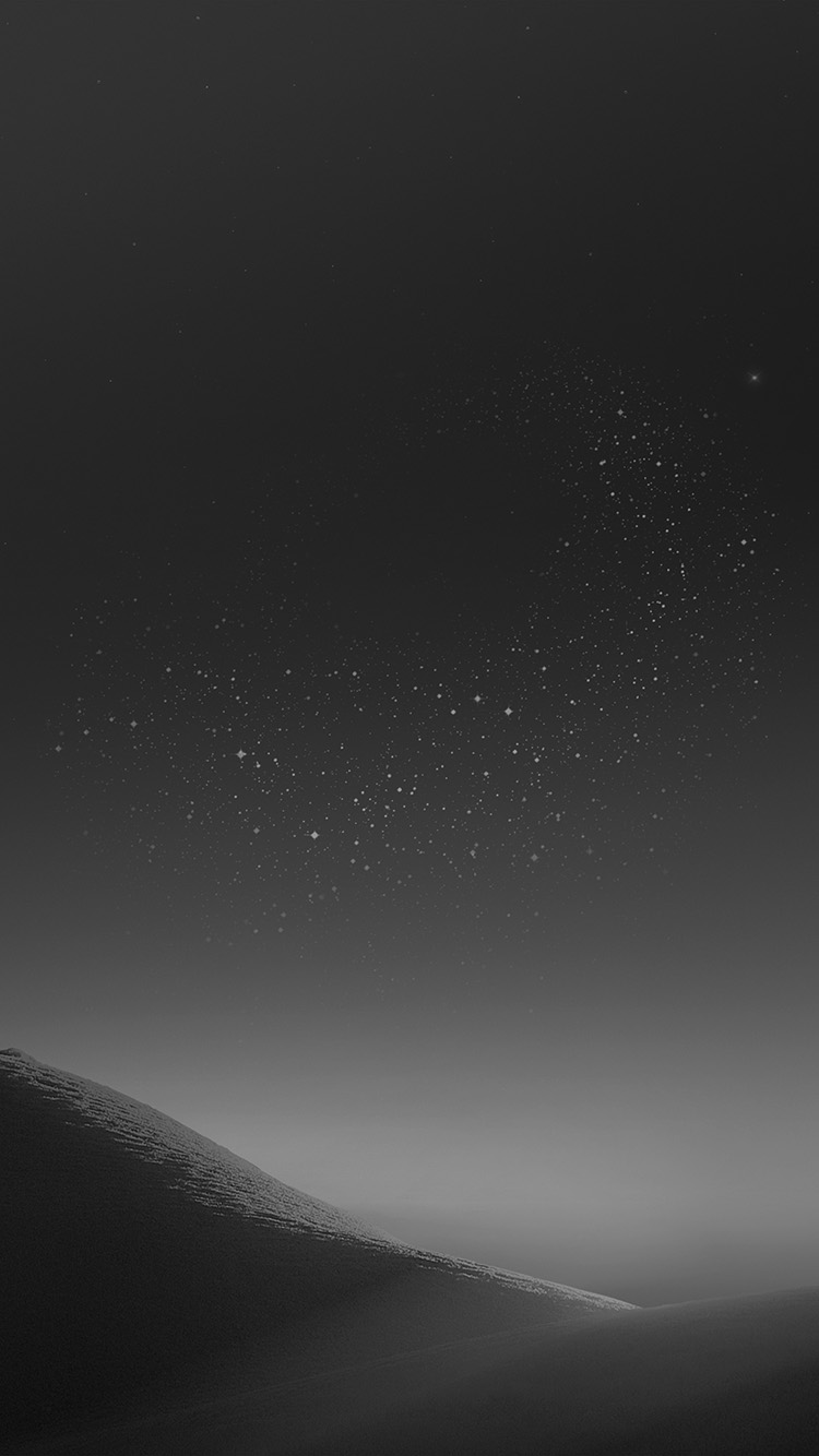 Bc37 Galaxy Night Sky Star Art Illustration Samsung Dark Bw Wallpaper