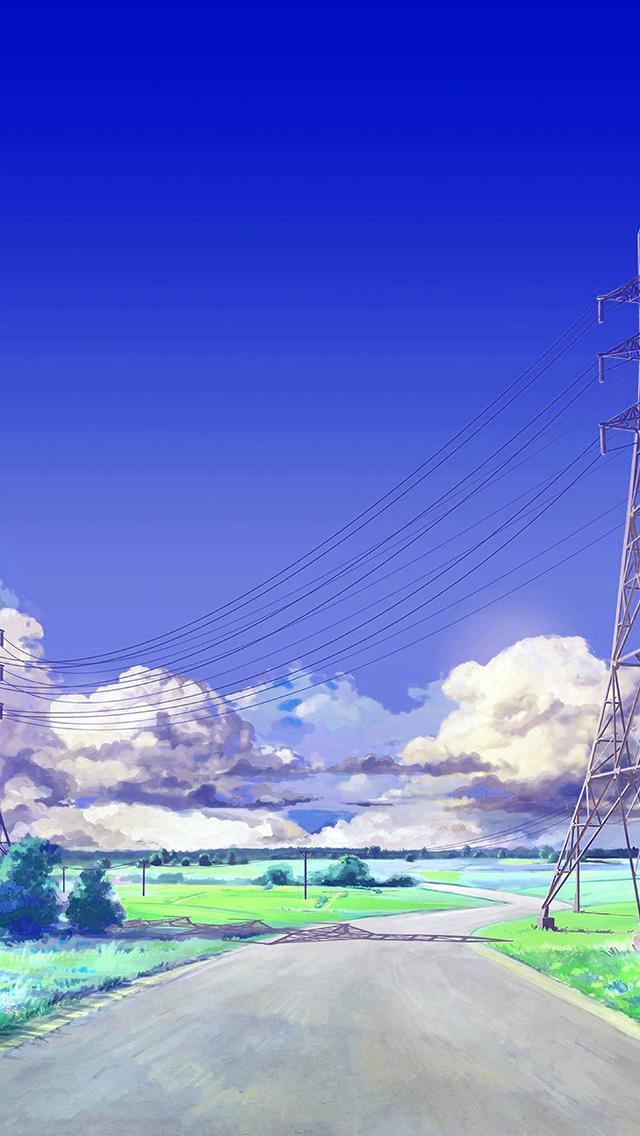 freeios8.com-iphone-4-5-6-plus-ipad-ios8-bc41-sunny-sky-arsenic-art-illustration