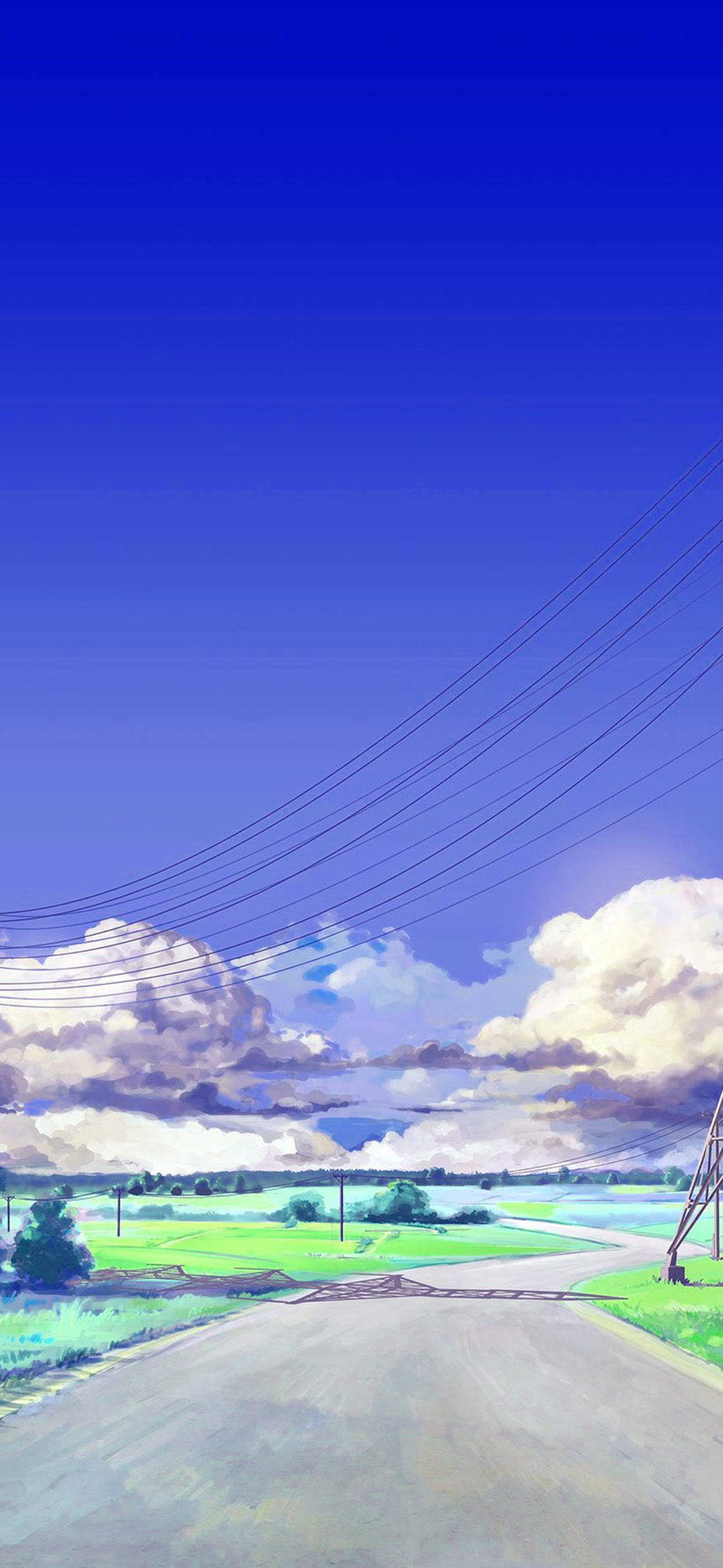 Bc41 Sunny Sky Arsenic Art Illustration Wallpaper