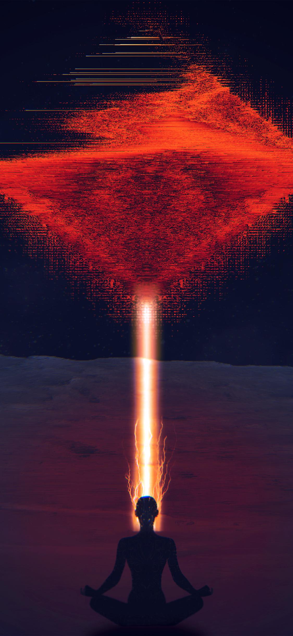 iPhonexpapers.com-Apple-iPhone-wallpaper-bc53-digital-red-space-alien-art-illustration-dark